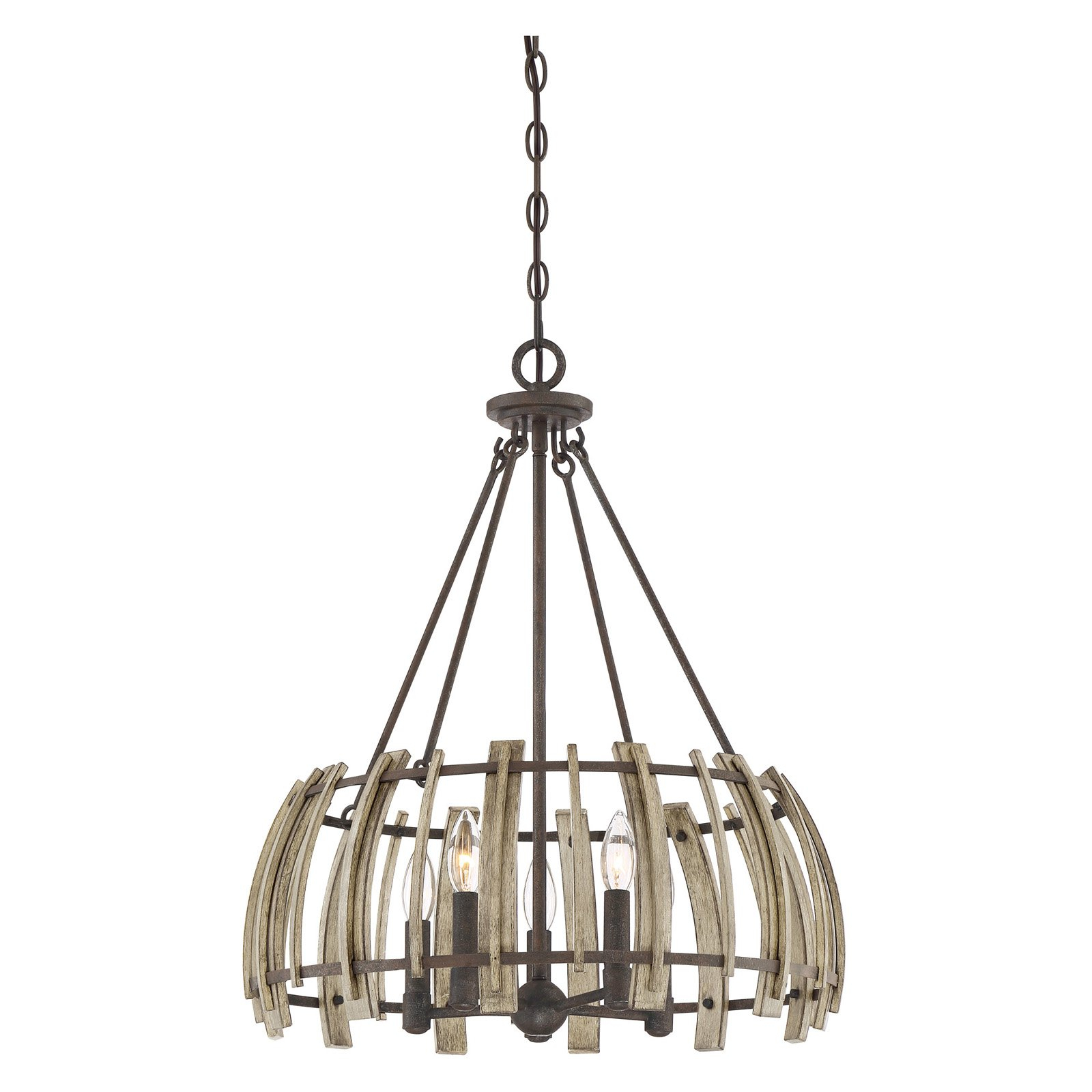 Quoizel Wood Hollow Whl2821Rk Pendant Light | Products In With Scruggs 1 Light Geometric Pendants (View 21 of 30)