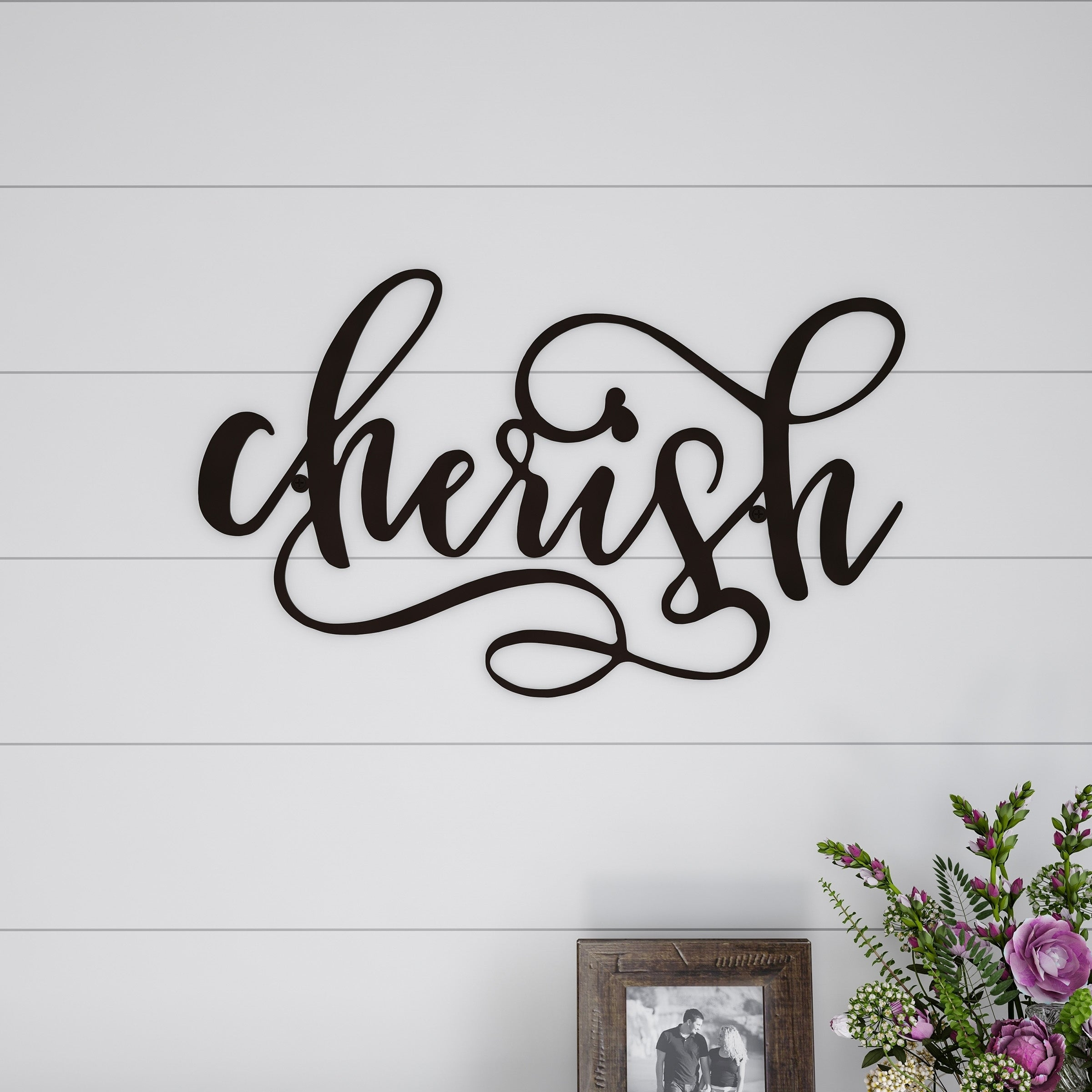 Quotes And Sayings Metal Art | Find Great Art Gallery Deals Inside Choose Happiness 3D Cursive Metal Wall Decor (View 24 of 30)
