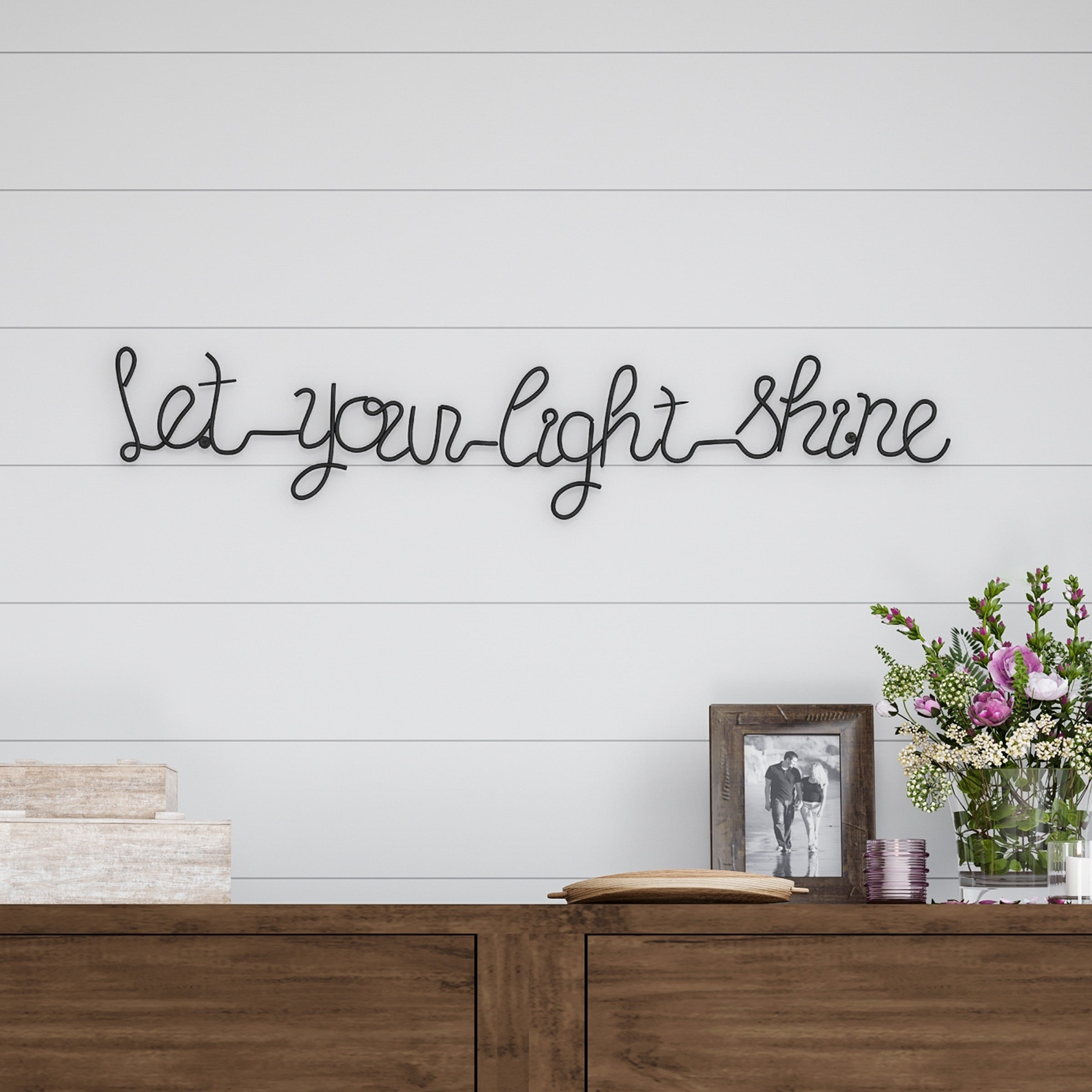 Quotes And Sayings Metal Art | Find Great Art Gallery Deals Inside Choose Happiness 3D Cursive Metal Wall Decor (View 23 of 30)
