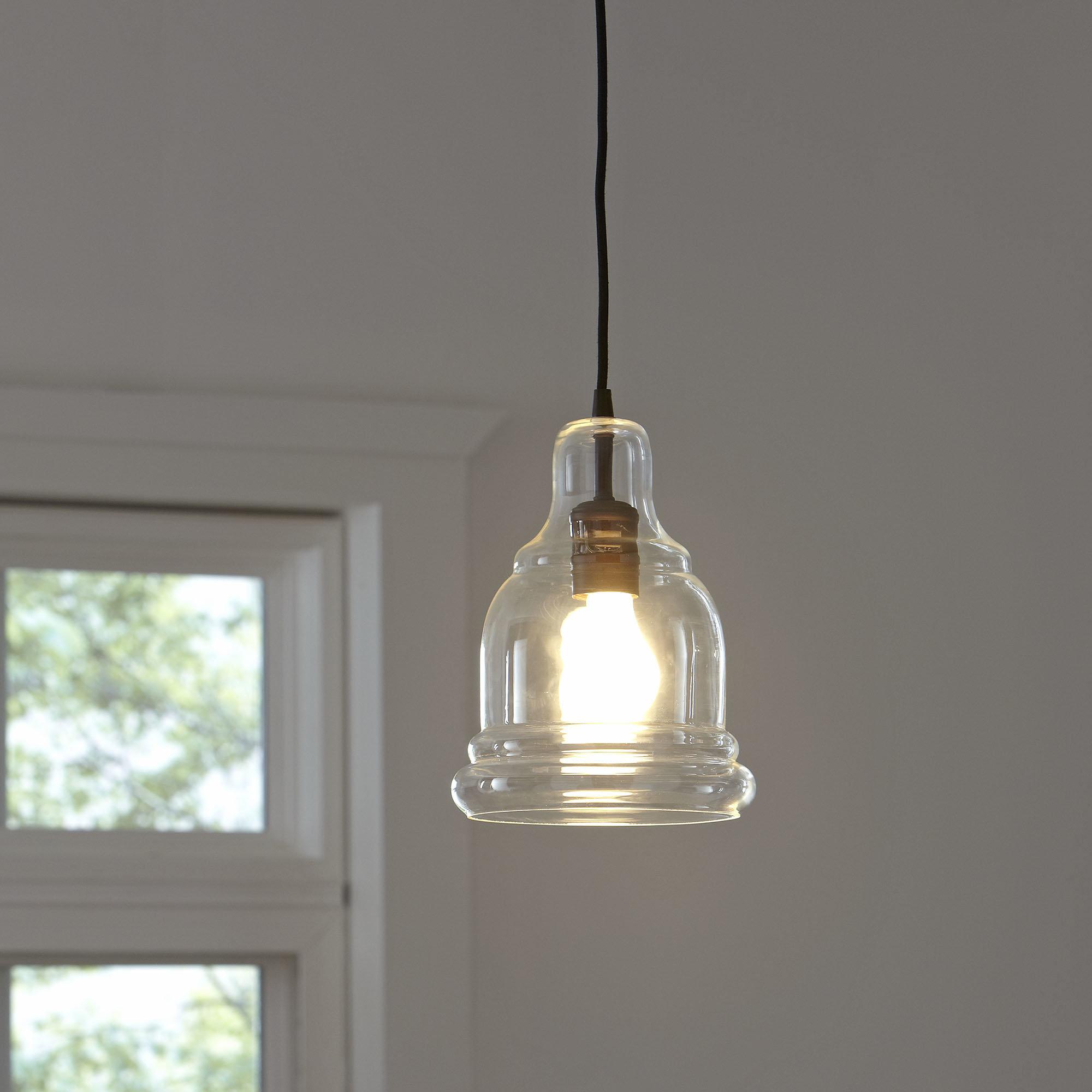 Rafaello Edison 1 Light Bell Pendant Intended For Vintage Edison 1 Light Bowl Pendants (Gallery 12 of 30)