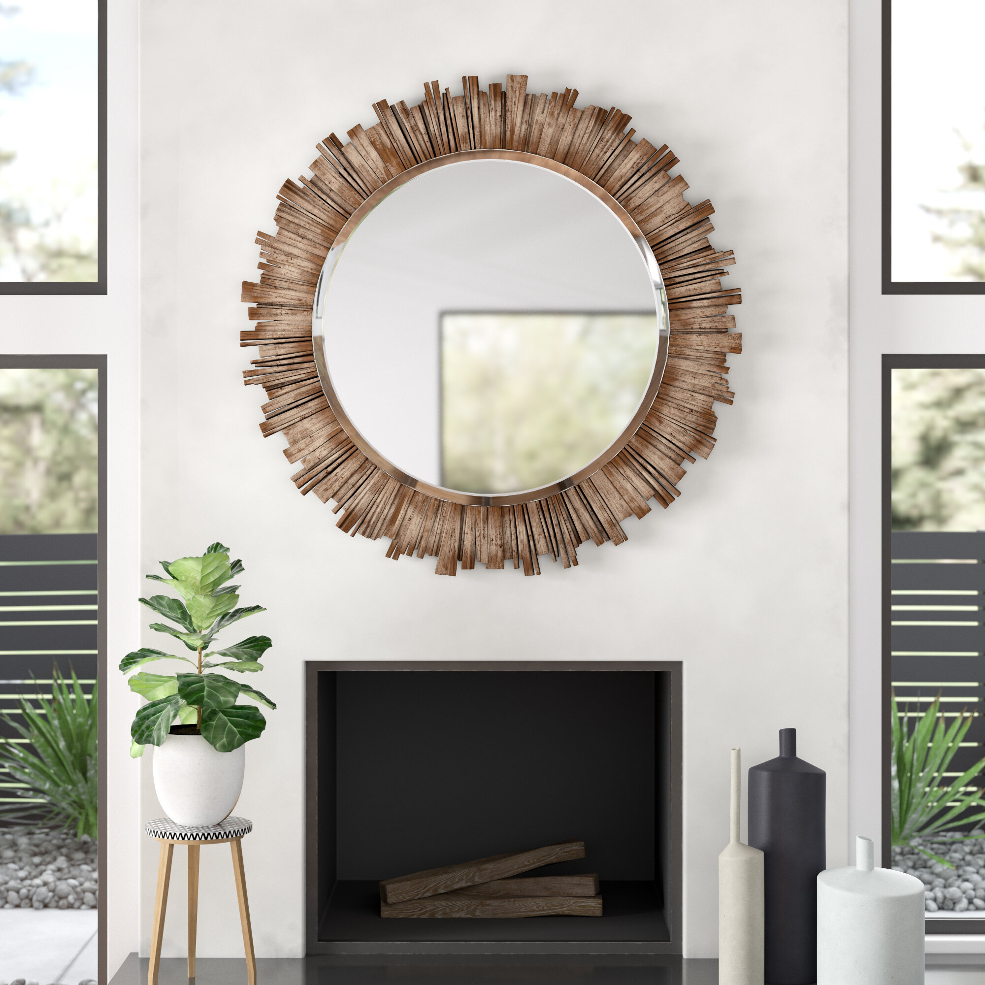 Raleigh Wall Mirror Intended For Brynn Accent Mirrors (Gallery 9 of 30)