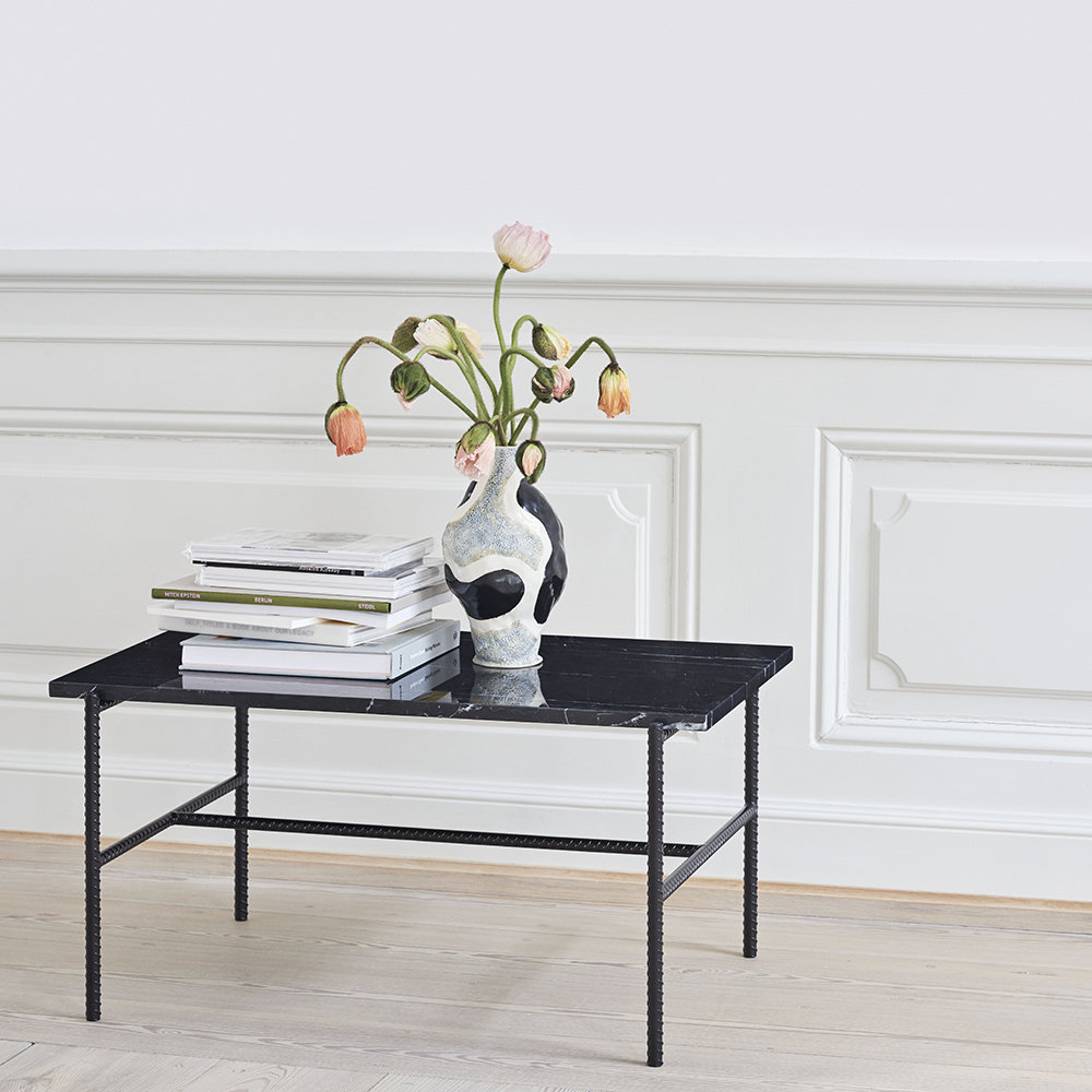 Rebar Rectangular Coffee Table - Black inside Coffee Sign With Rebar Wall Decor (Image 22 of 30)