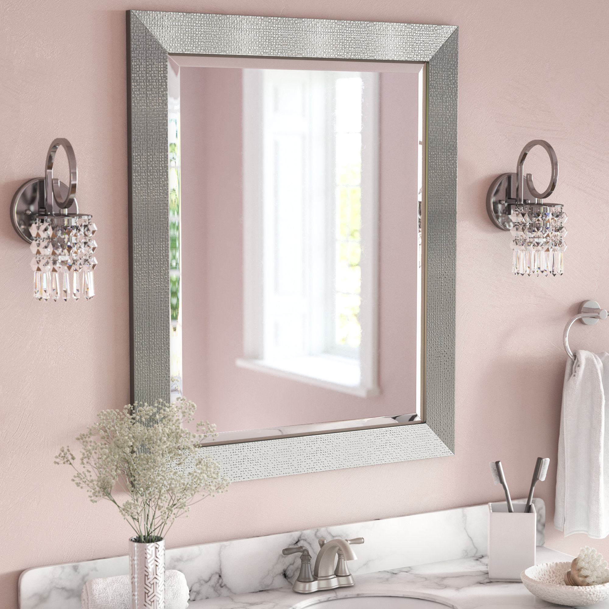 Rectangle Accent Wall Mirror Inside Rectangle Accent Wall Mirrors (Gallery 2 of 30)