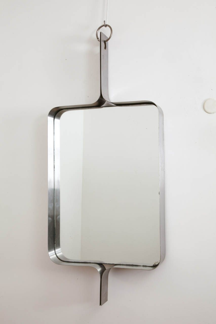 Rectangular Steel Mirrormichel Boyer, Circa 1970. Image for Boyers Wall Mirrors (Image 25 of 30)
