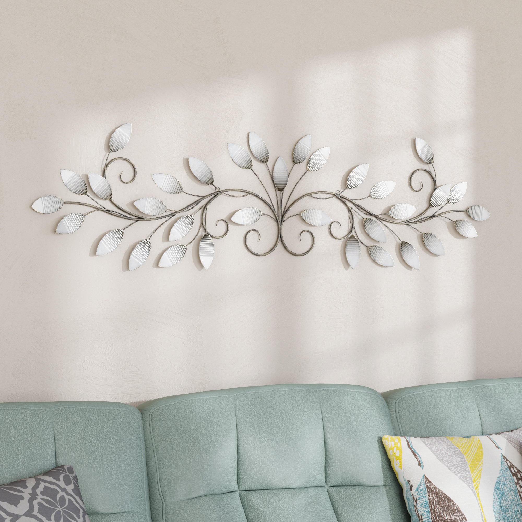 Featured Photo of Brushed Pearl Over The Door Wall Decor