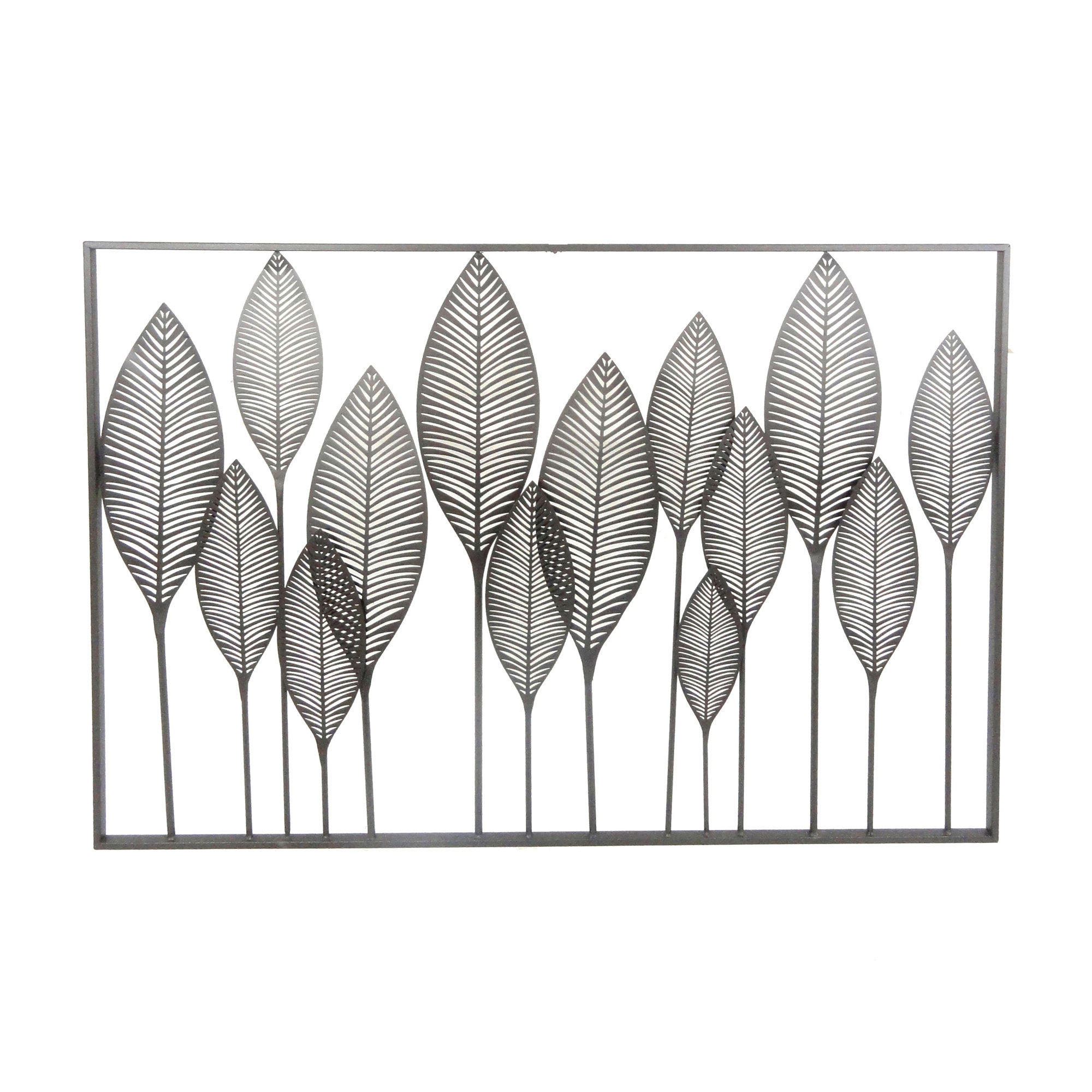 Red Barrel Studio Metal Leaves Wall Décor & Reviews | Wayfair.ca Throughout Metal Leaf Wall Decor By Red Barrel Studio (Gallery 3 of 30)