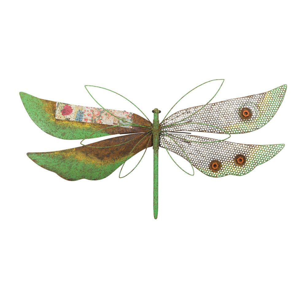 Regal Rustic Wall Decor – Dragonfly Green Within Dragonfly Wall Decor (View 4 of 30)