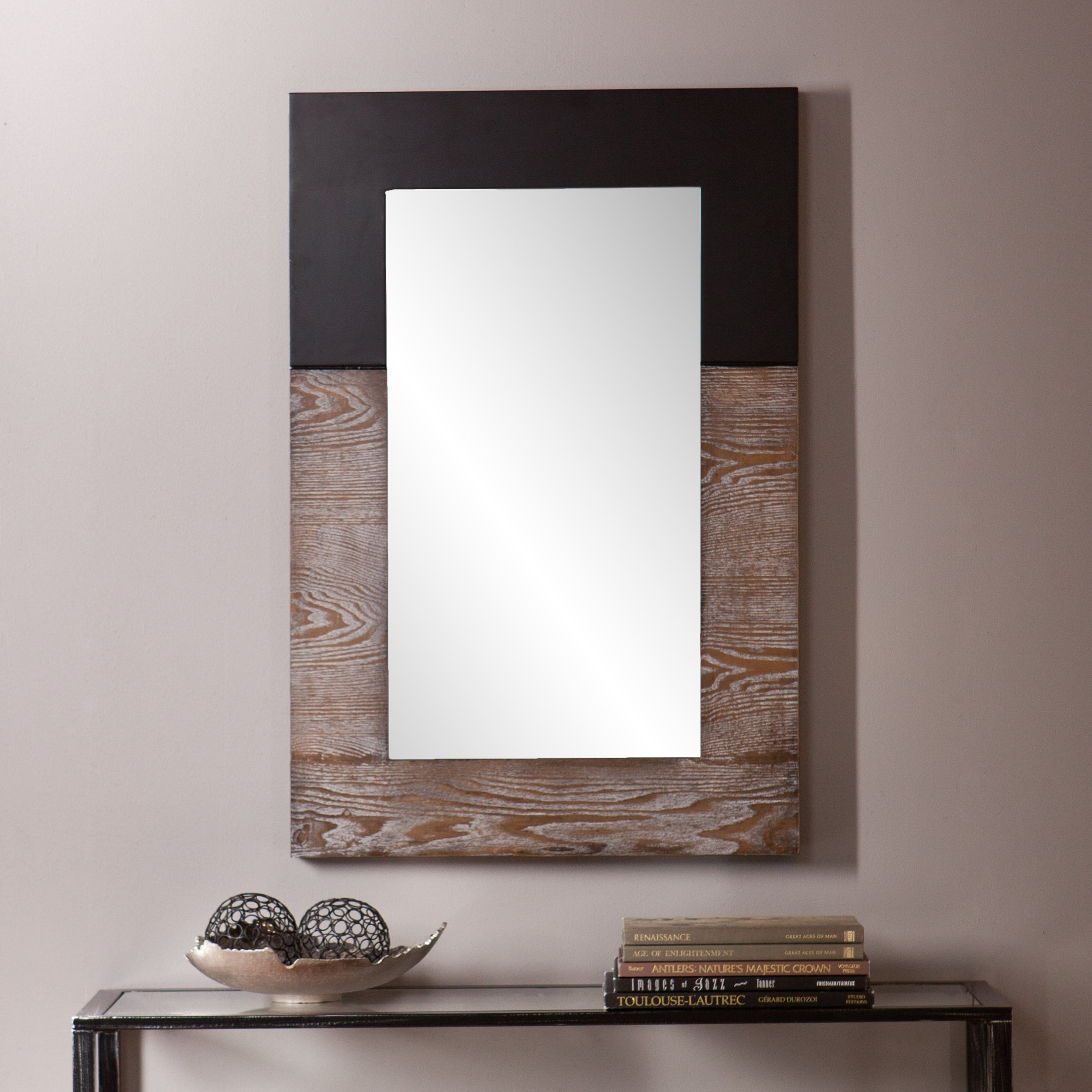 Rena Accent Mirror With Wood Accent Mirrors (View 9 of 30)