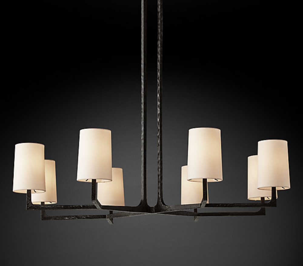 Restoration Hardware Chandelier Look Alikes For Less Within Varnum 4 Light Lantern Pendants (View 24 of 30)