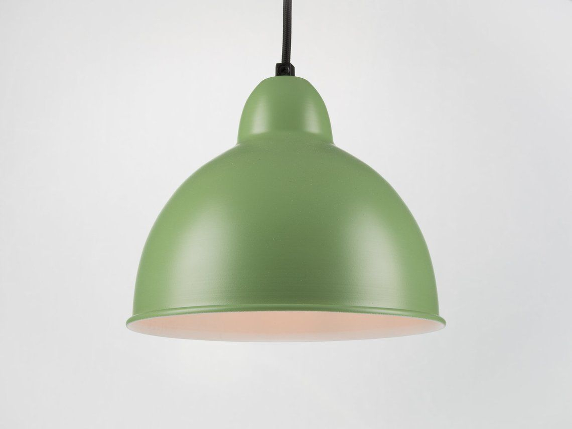 Retro Ceiling Pendant With Shade | Green | Retro | Loft In Stetson 1 Light Bowl Pendants (View 18 of 30)