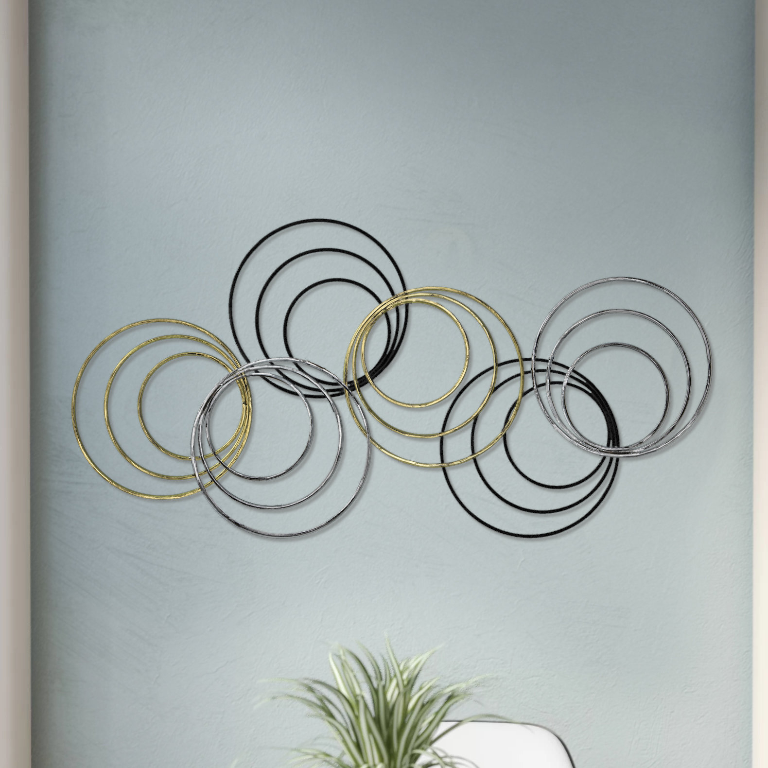Rings Wall Décor Regarding Rings Wall Decor (View 10 of 30)