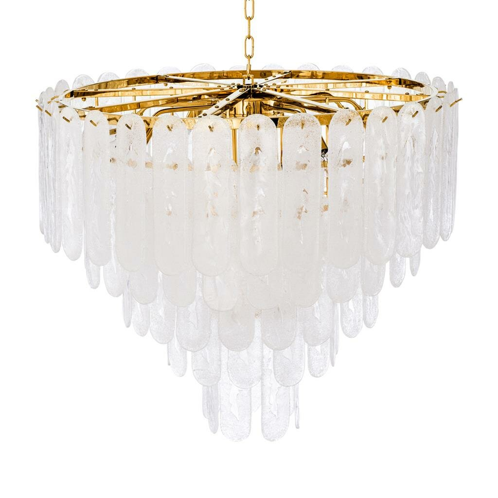 Riveria 14 Light Crystal Chandelier Pertaining To Benedetto 5 Light Crystal Chandeliers (Photo 21 of 30)