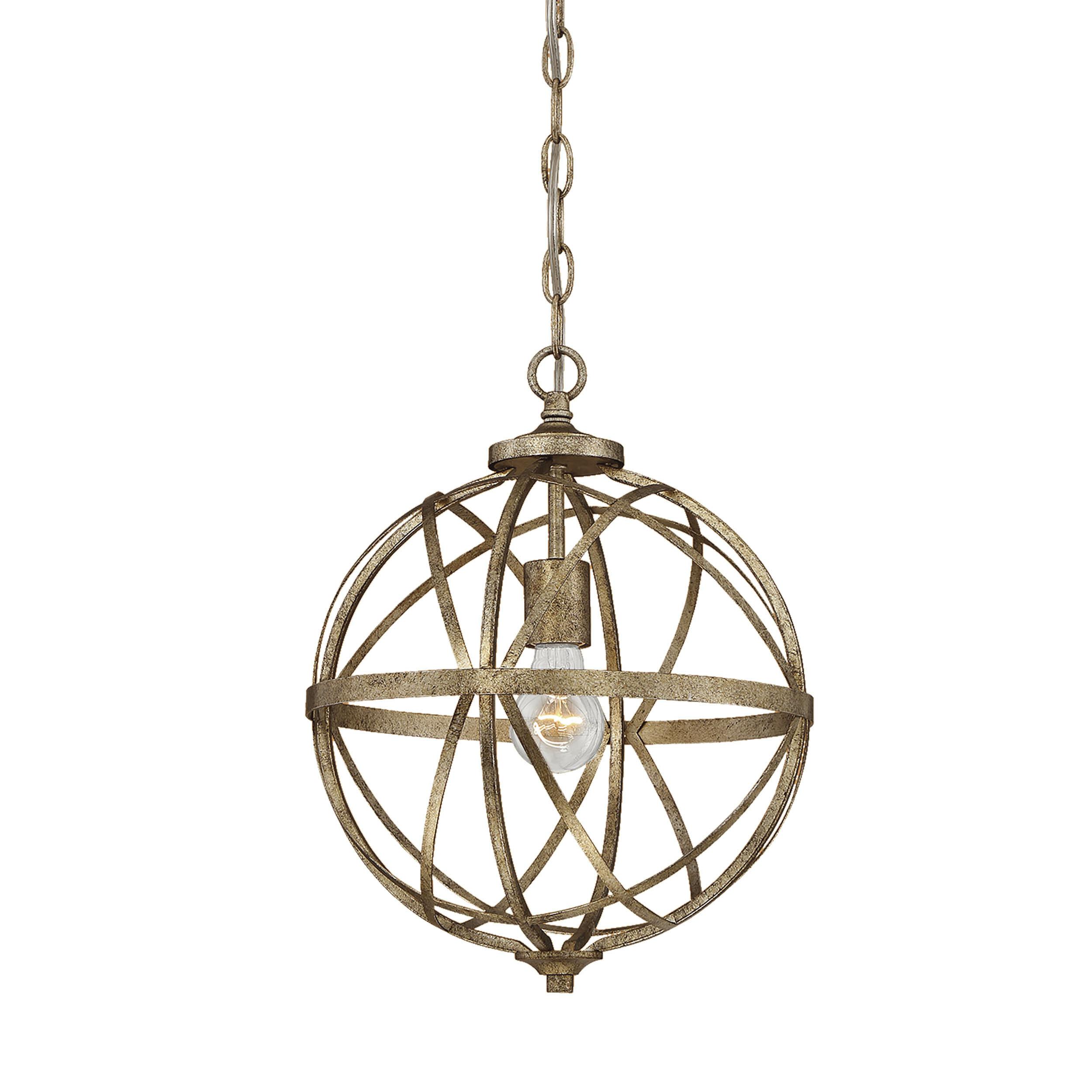 Rodden 1-Light Single Globe Pendant regarding Irwin 1-Light Single Globe Pendants (Image 26 of 30)