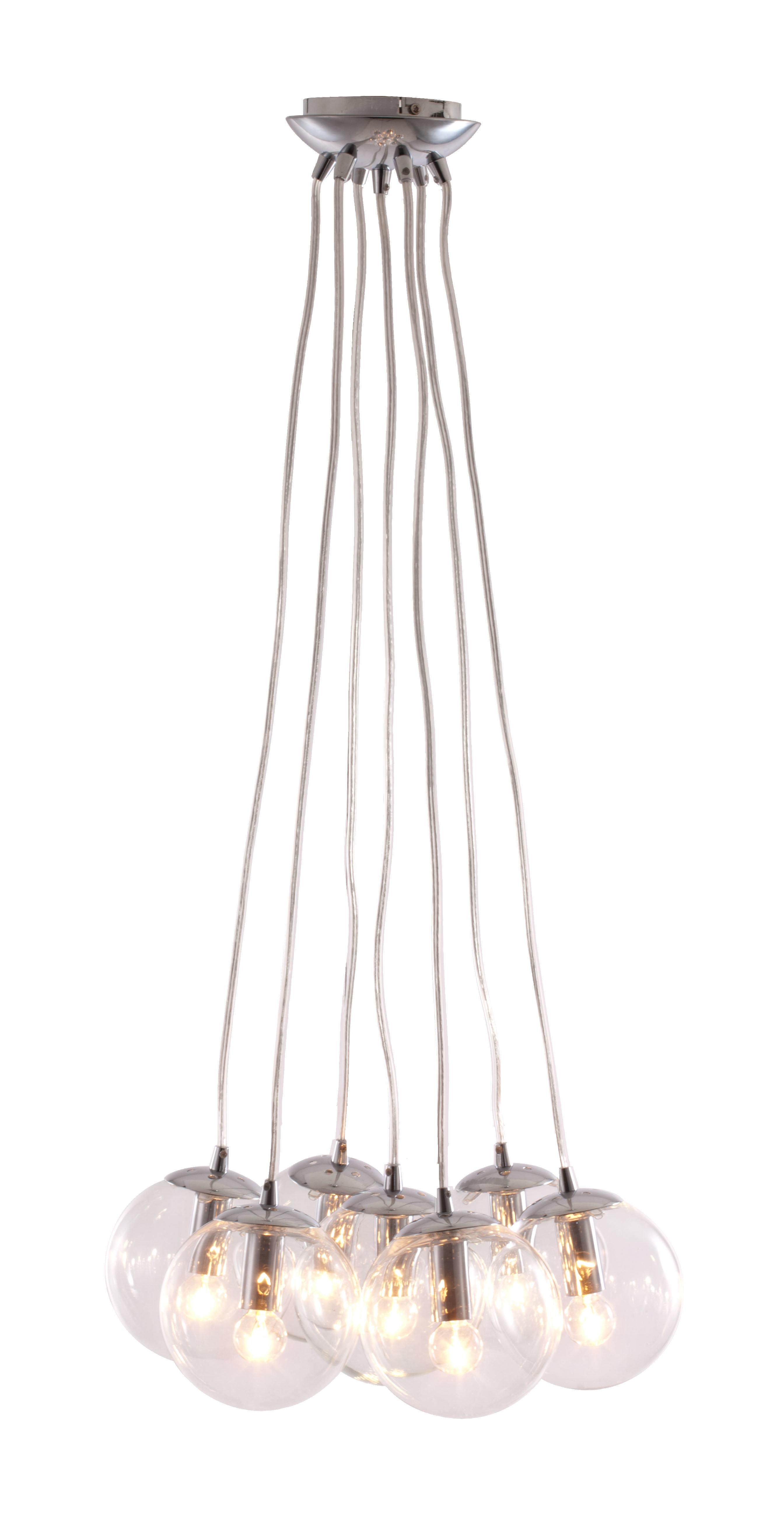 Roni 7 Bulb Cluster Pendant Pertaining To Neal 9 Light Kitchen Island Teardrop Pendants (Photo 22 of 30)