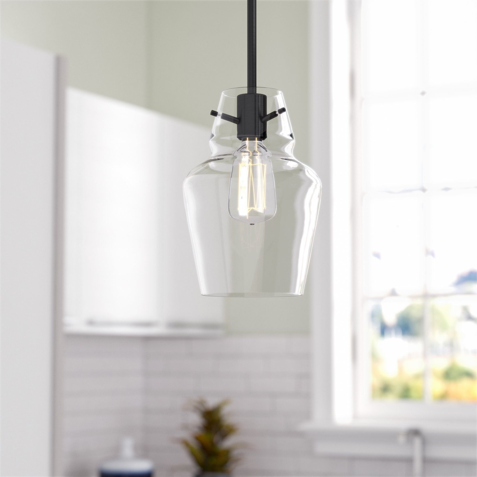 Roslindale 1 Light Bell Pendant | Mini Pendant | Lighting Pertaining To Roslindale 1 Light Single Bell Pendants (Gallery 7 of 30)