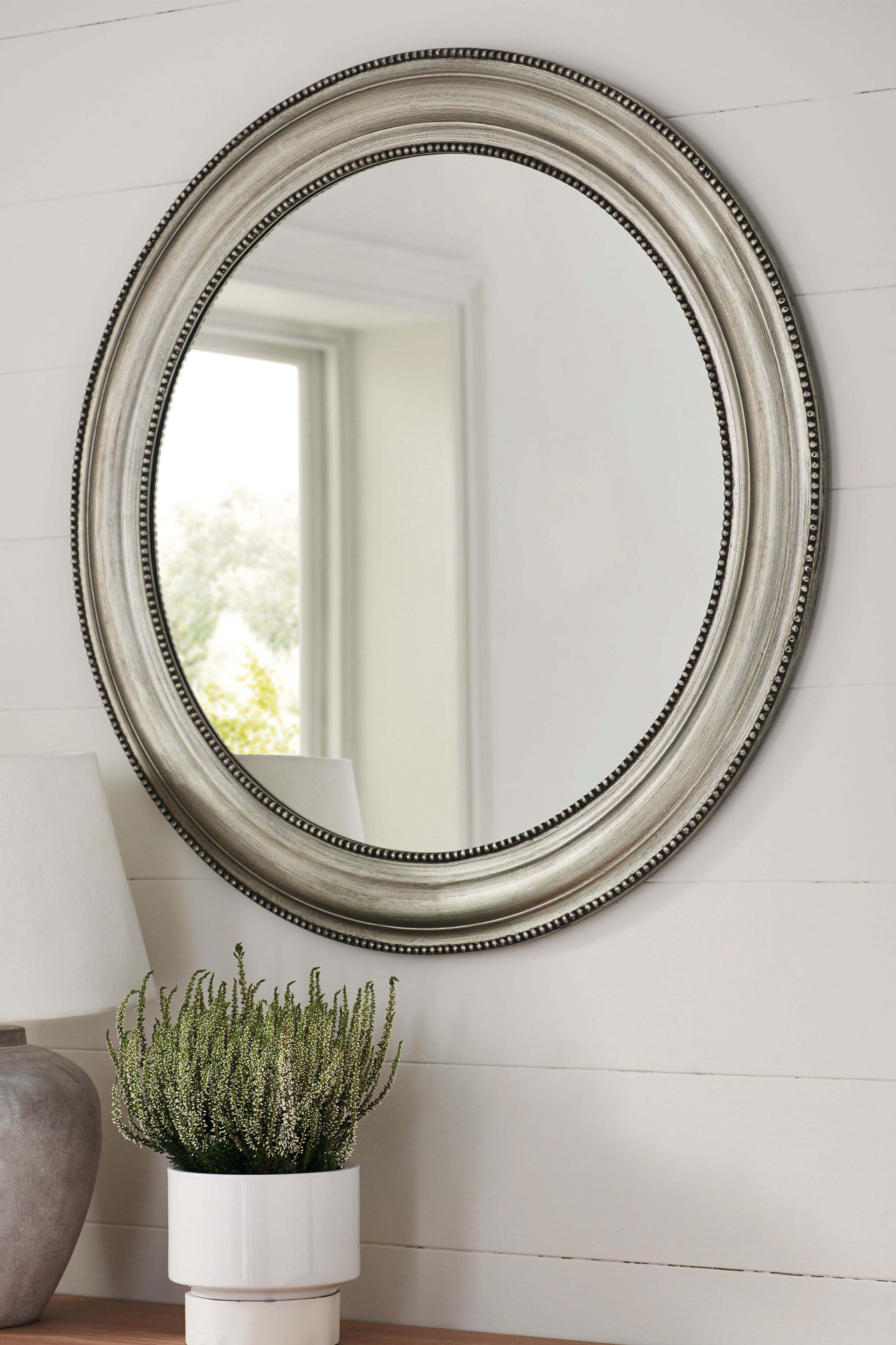 Round Beaded Mirrorgallery - Pewter | Products In 2019 within Boyers Wall Mirrors (Image 27 of 30)
