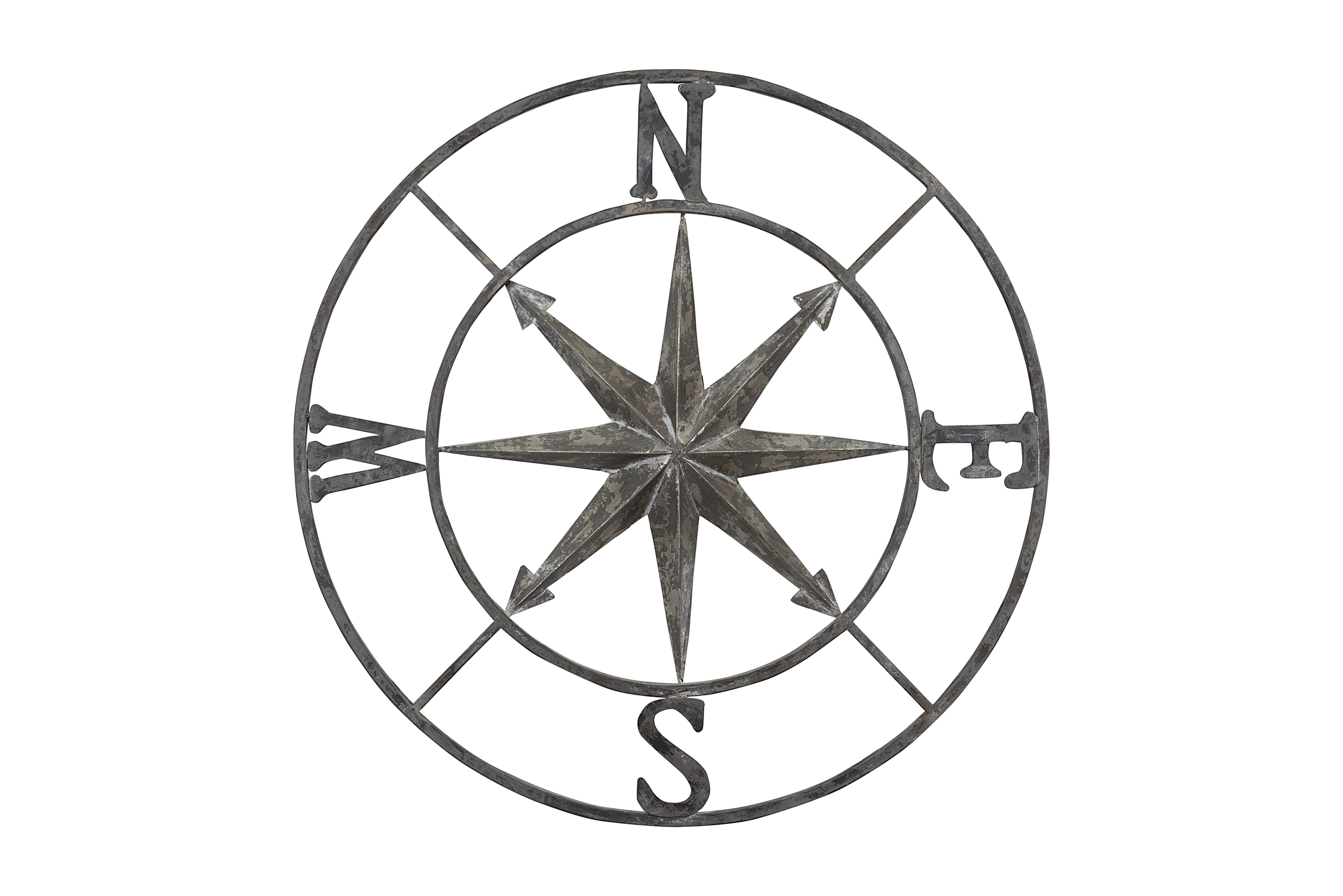 Round Compass Wall Décor intended for Round Compass Wall Decor (Image 23 of 30)