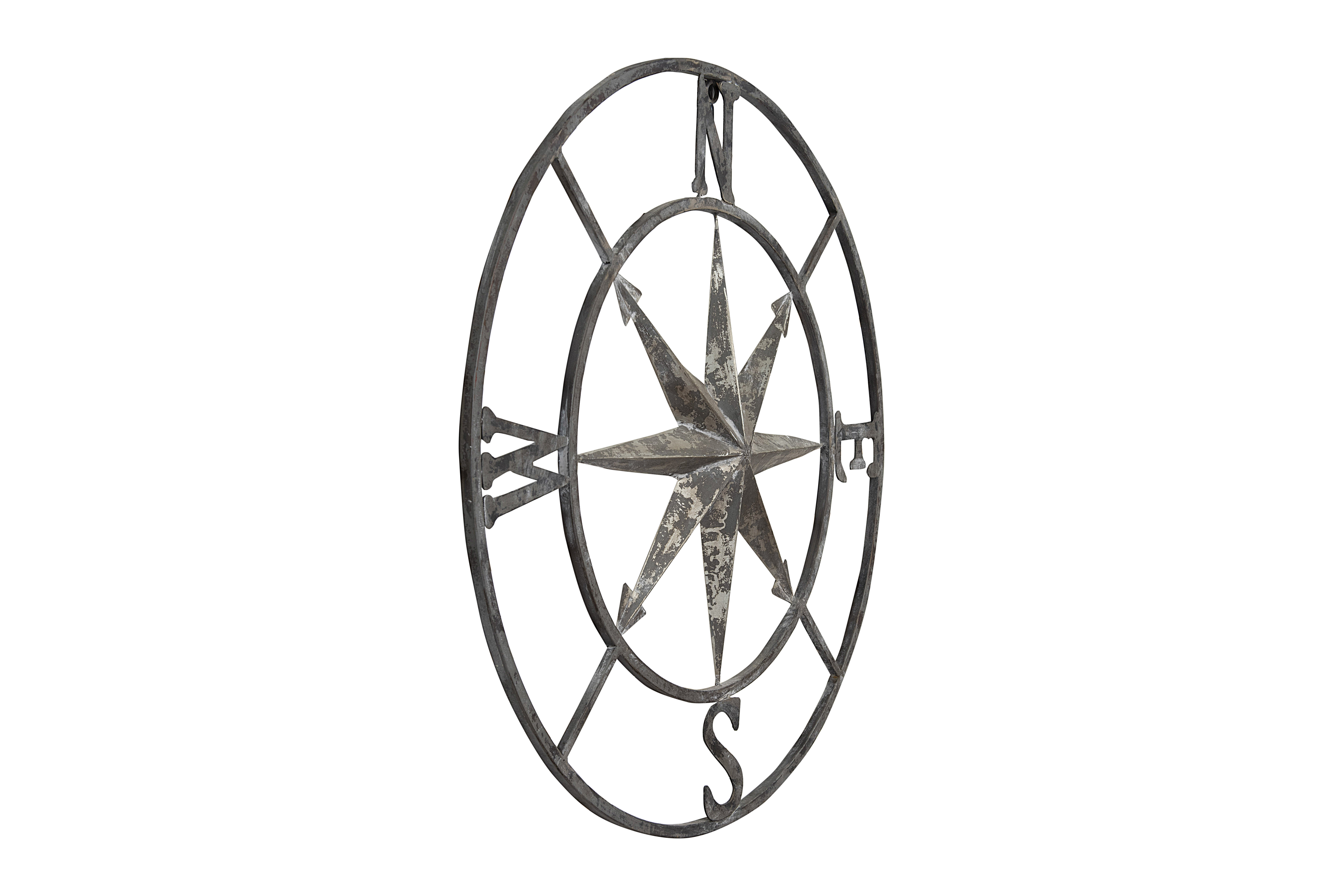 Round Compass Wall Décor With Regard To Round Compass Wall Decor (Gallery 3 of 30)
