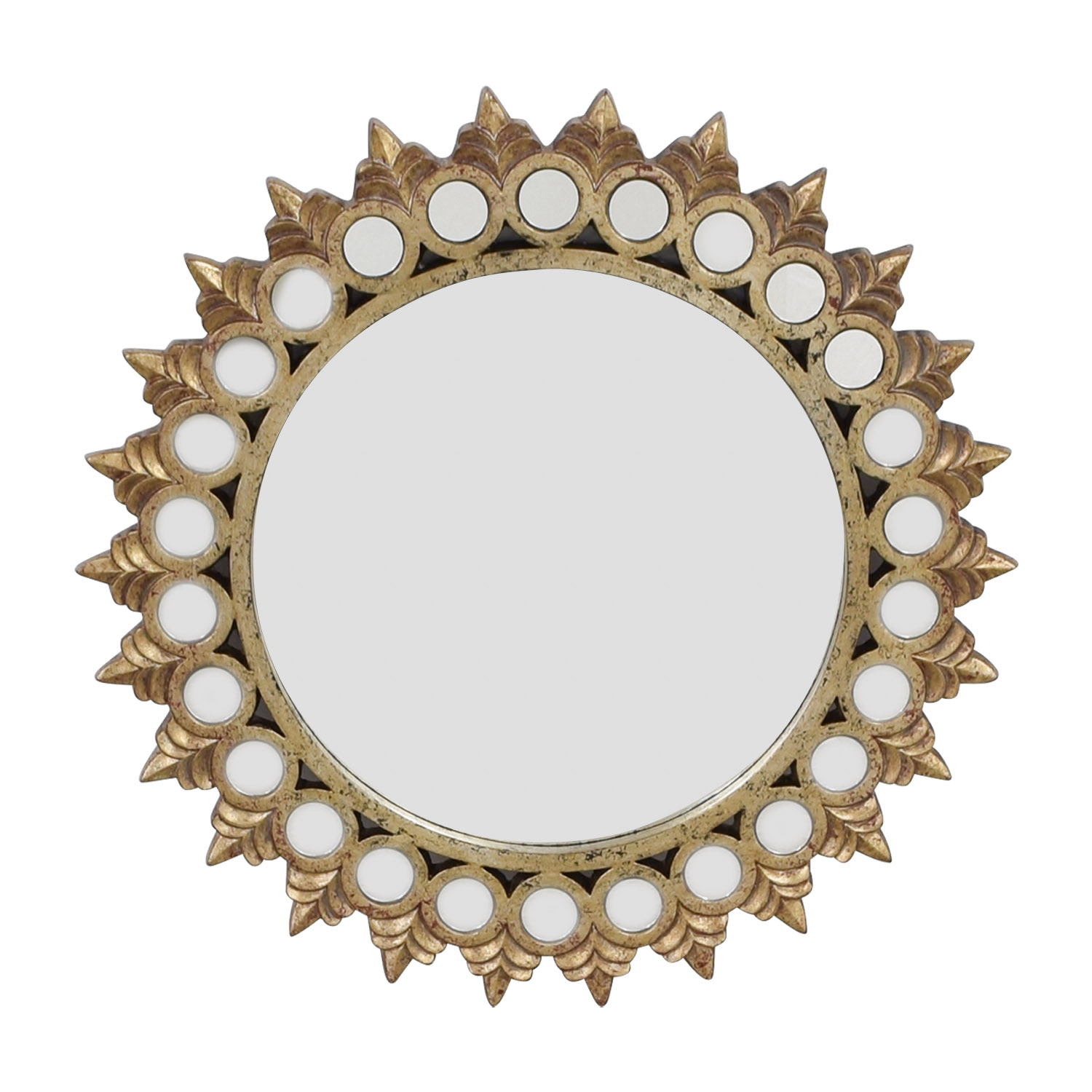 Round Gold Mirrors - Mirror Ideas pertaining to Kentwood Round Wall Mirrors (Image 24 of 30)