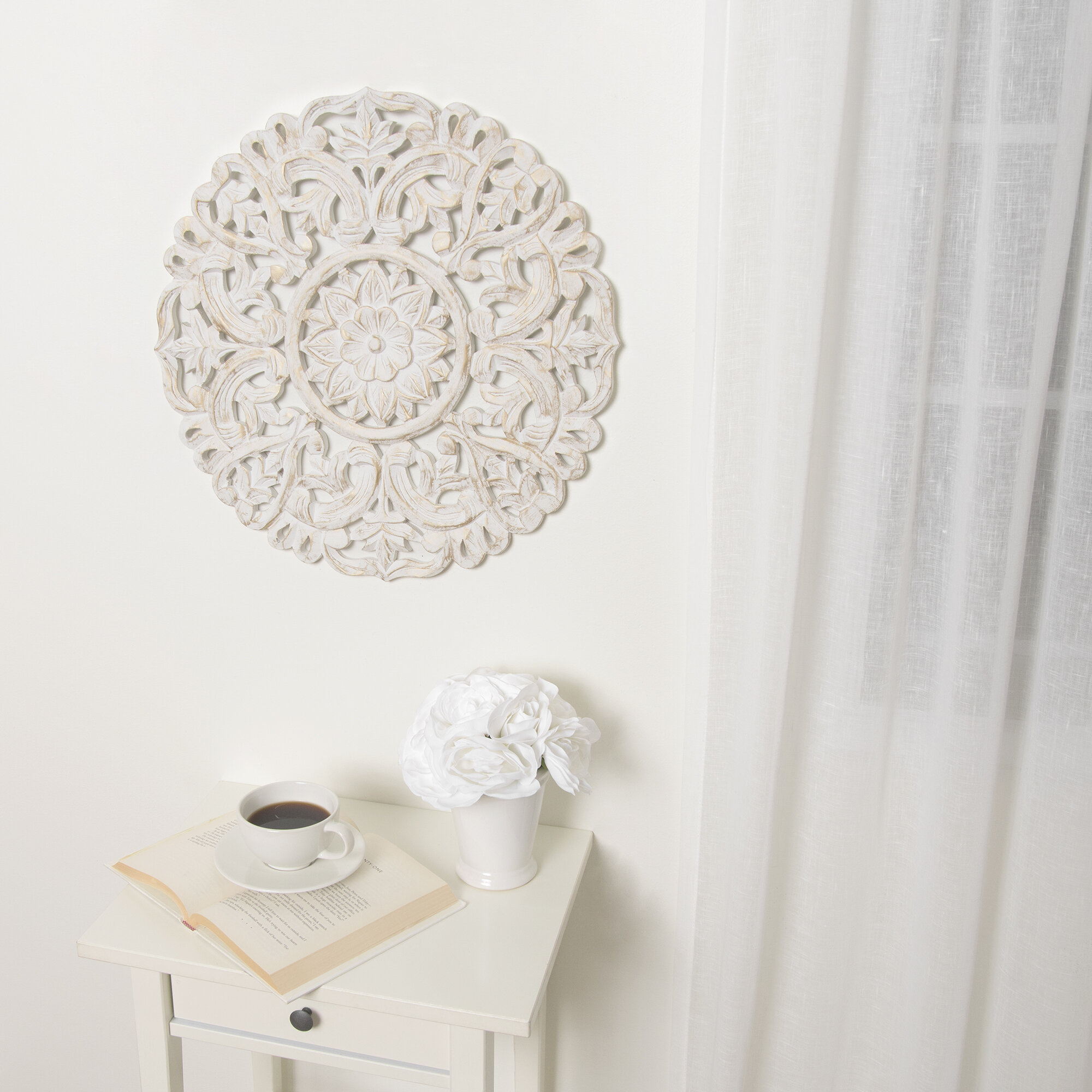 Round Wall Decor | Wayfair With Contemporary Abstract Round Wall Decor (Gallery 20 of 30)
