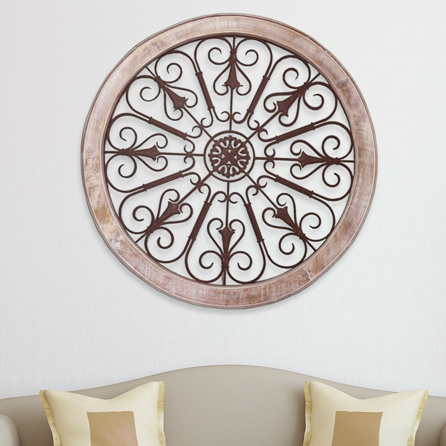Round Wall Decor | Wayfair Within Contemporary Abstract Round Wall Decor (Gallery 2 of 30)