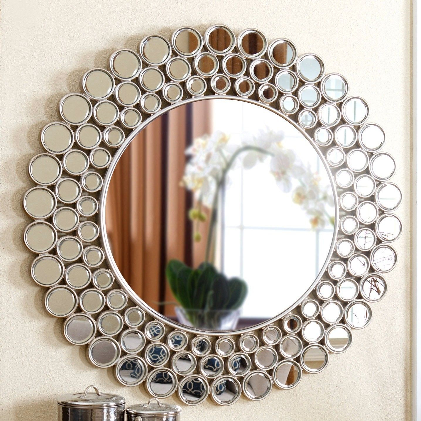 Round Wall Mirror | Mirrors | Round Wall Mirror, Mirror Inside Kentwood Round Wall Mirrors (View 27 of 30)