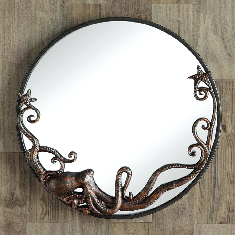 Round Wall Mirror – Suzannemagers.co Within Point Reyes Molten Round Wall Mirrors (Photo 21 of 30)