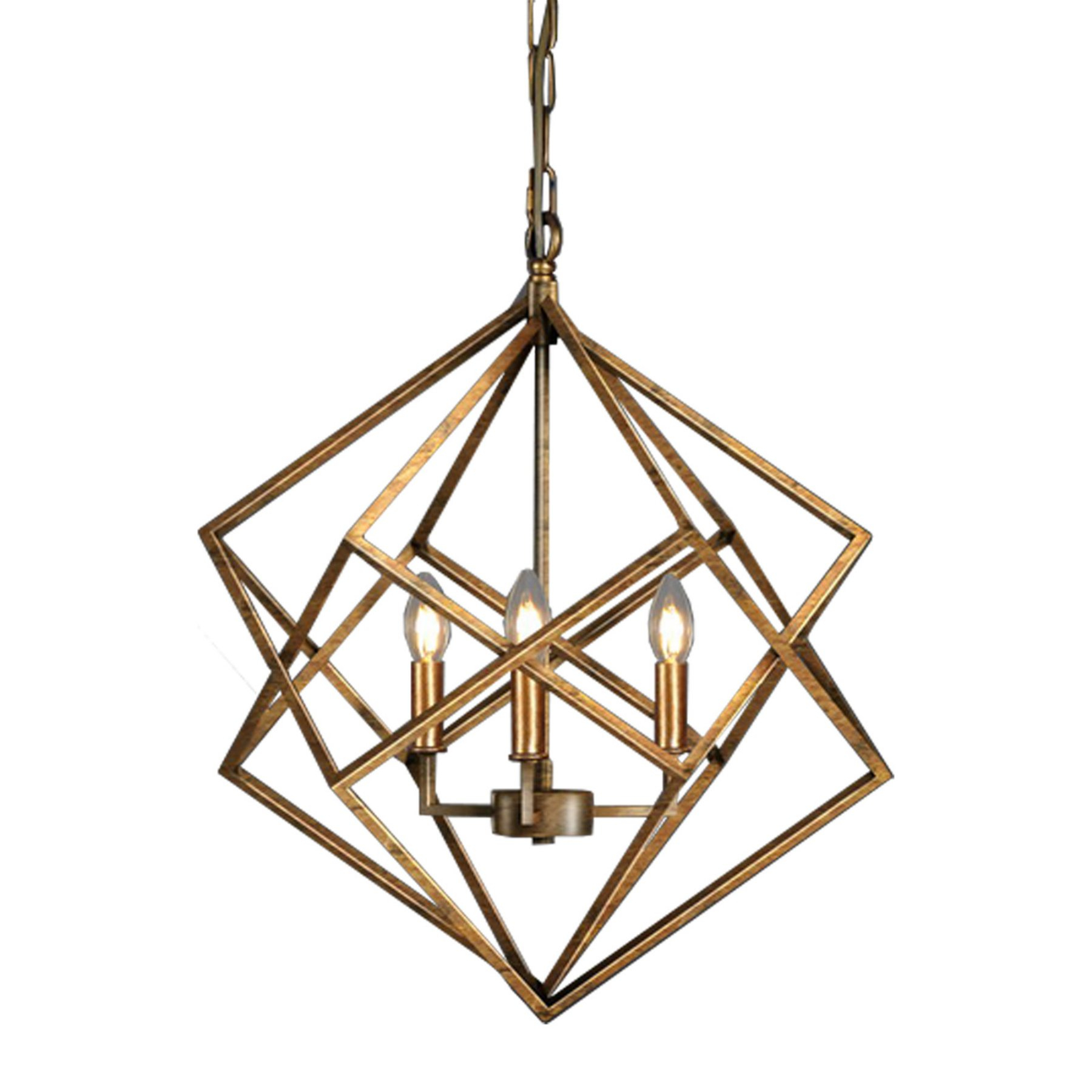 Russ160 Vista Geometric Chandelier – Bilt005Ag | Products In With Regard To Cavanagh 4 Light Geometric Chandeliers (Gallery 14 of 30)