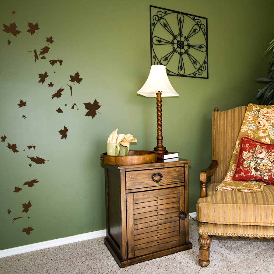 Rustic Fall Diy Decor | Wallums Wall Decor with Flowing Leaves Wall Decor (Image 22 of 30)