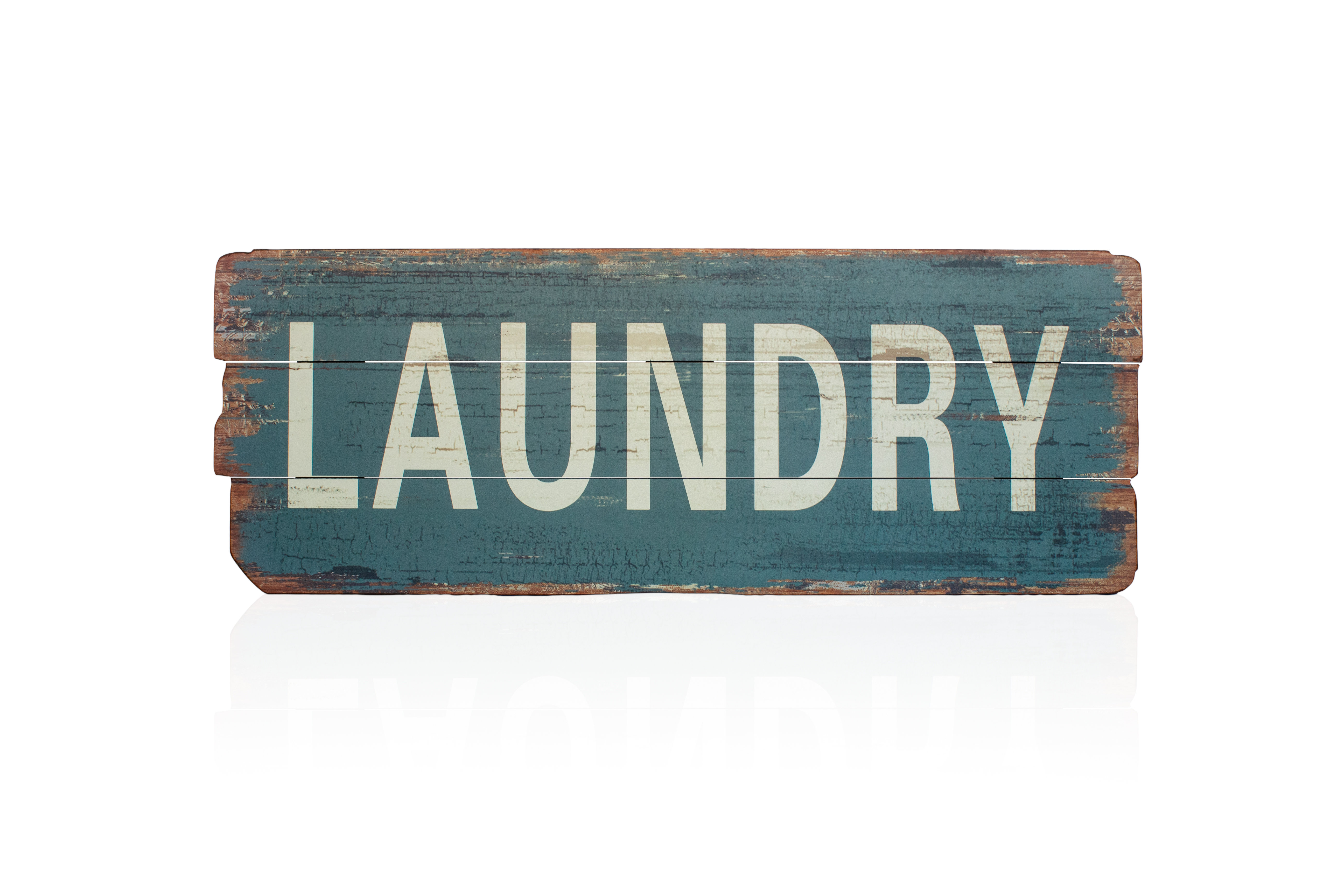 Rustic Laundry Wood Sign Wall Decor With Personalized Mint Distressed Vintage Look Laundry Metal Sign Wall Decor (View 11 of 30)