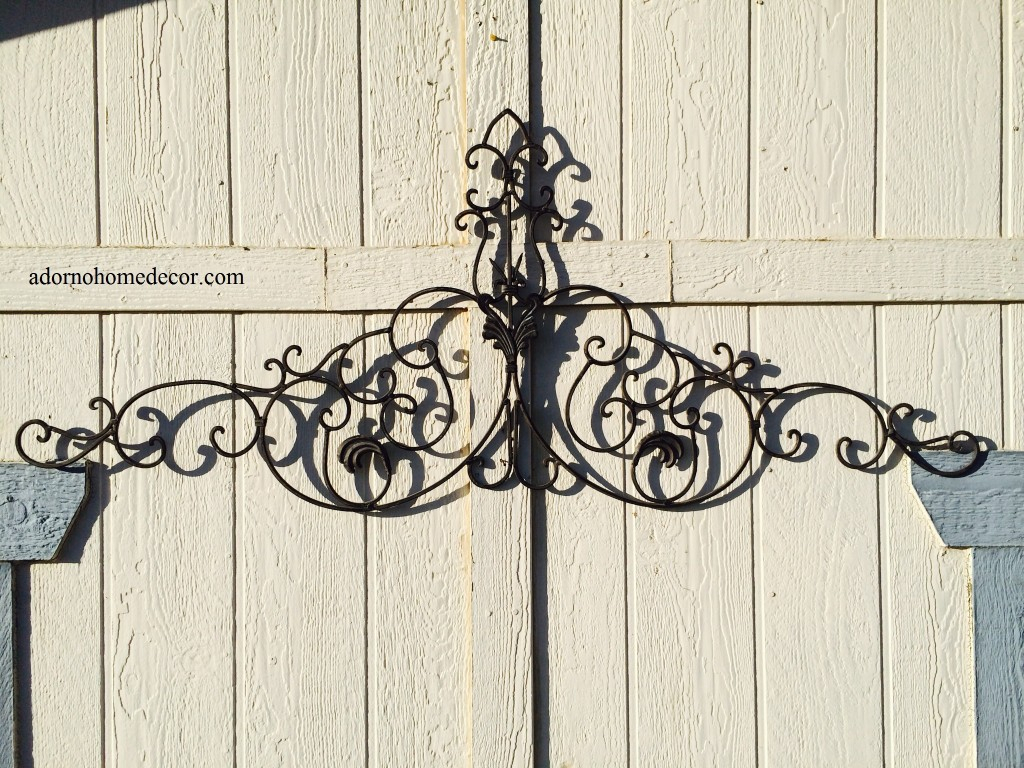 Rustic Metal Wall Decor New In Wonderful For Modern Style within Ornamental Wood And Metal Scroll Wall Decor (Image 23 of 30)