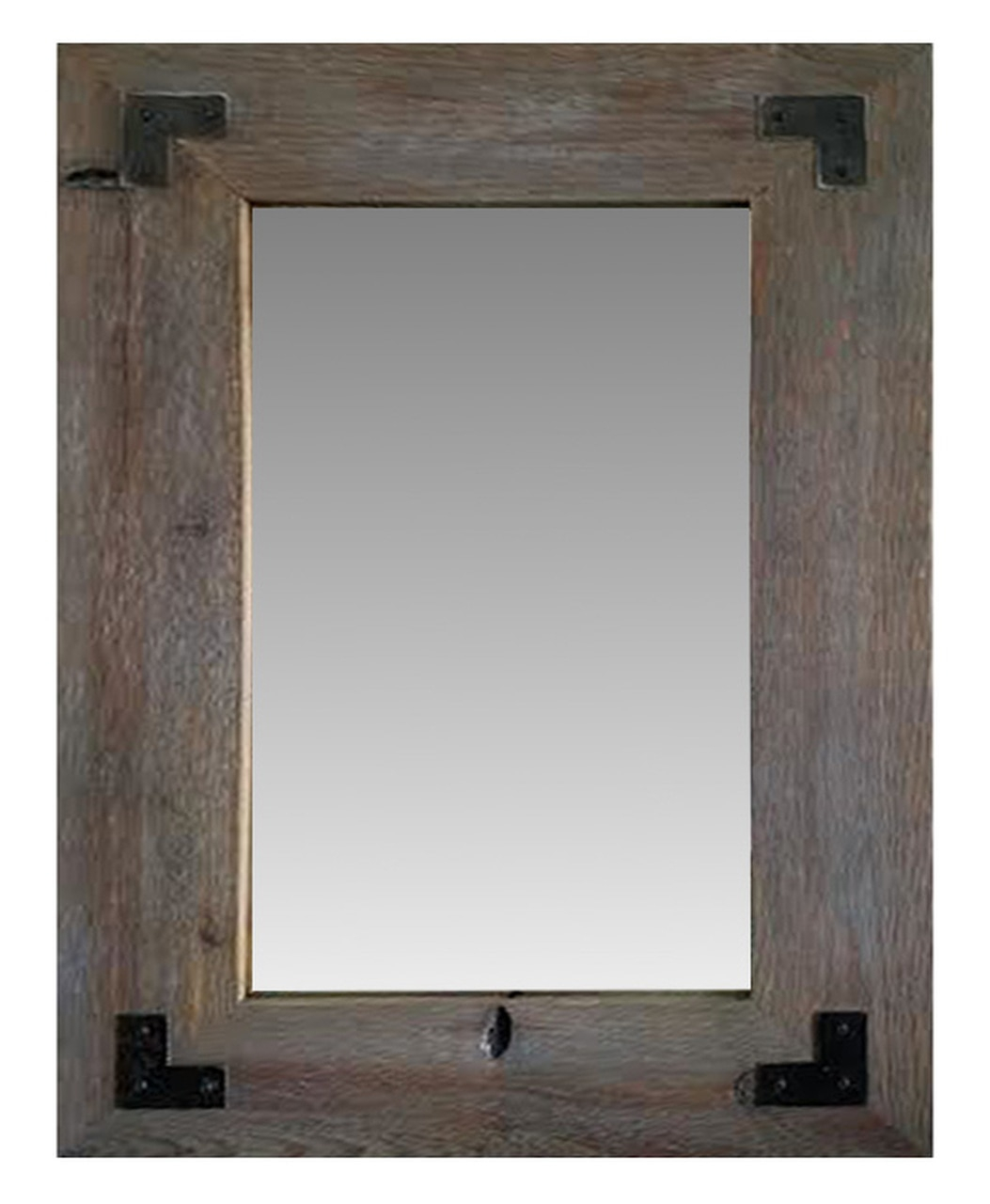 Rustic Mirrors | Wood, Metal & Farmhouse Framed Mirrors Regarding Handcrafted Farmhouse Full Length Mirrors (View 24 of 30)