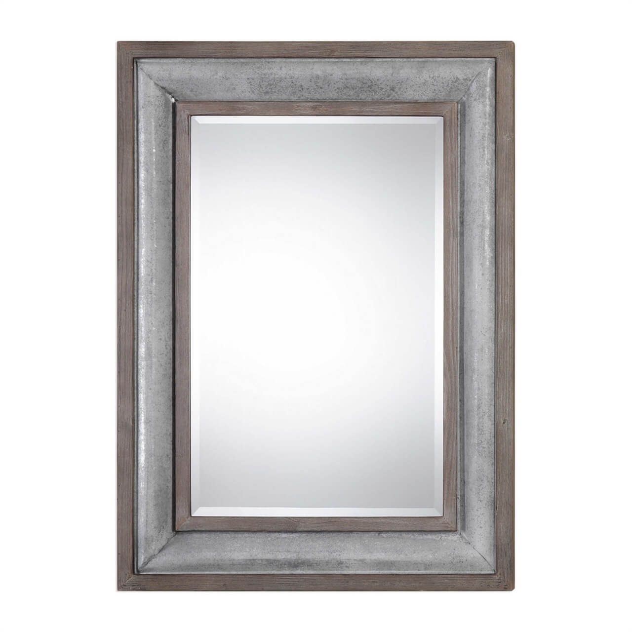Rustic Mirrors | Wood, Metal & Farmhouse Framed Mirrors With Handcrafted Farmhouse Full Length Mirrors (View 25 of 30)