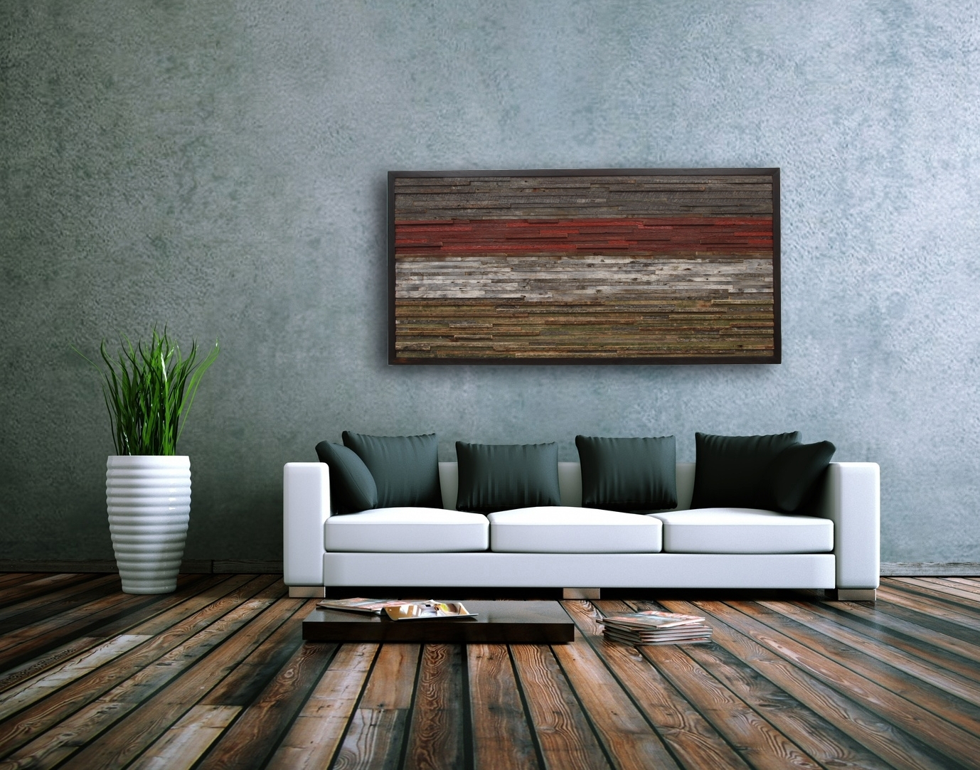 Rustic Wall Art And Decor For Houses Large Prints Design For Large Modern Industrial Wall Decor (Photo 18 of 30)