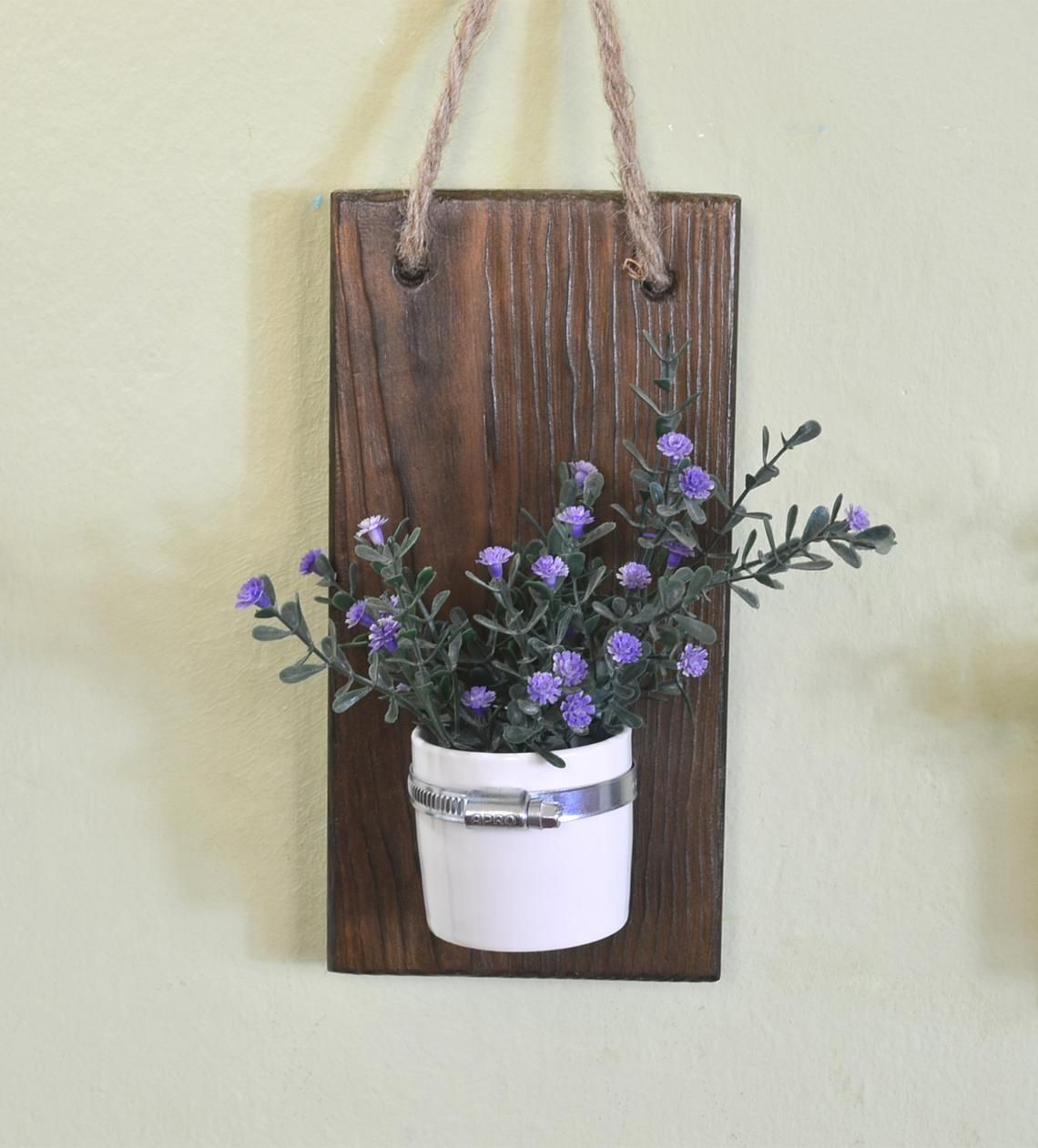 Rustic Wall Decor Wall Sconce Wall Bowl Wall Vase Wooden for Vase And Bowl Wall Decor (Image 19 of 30)