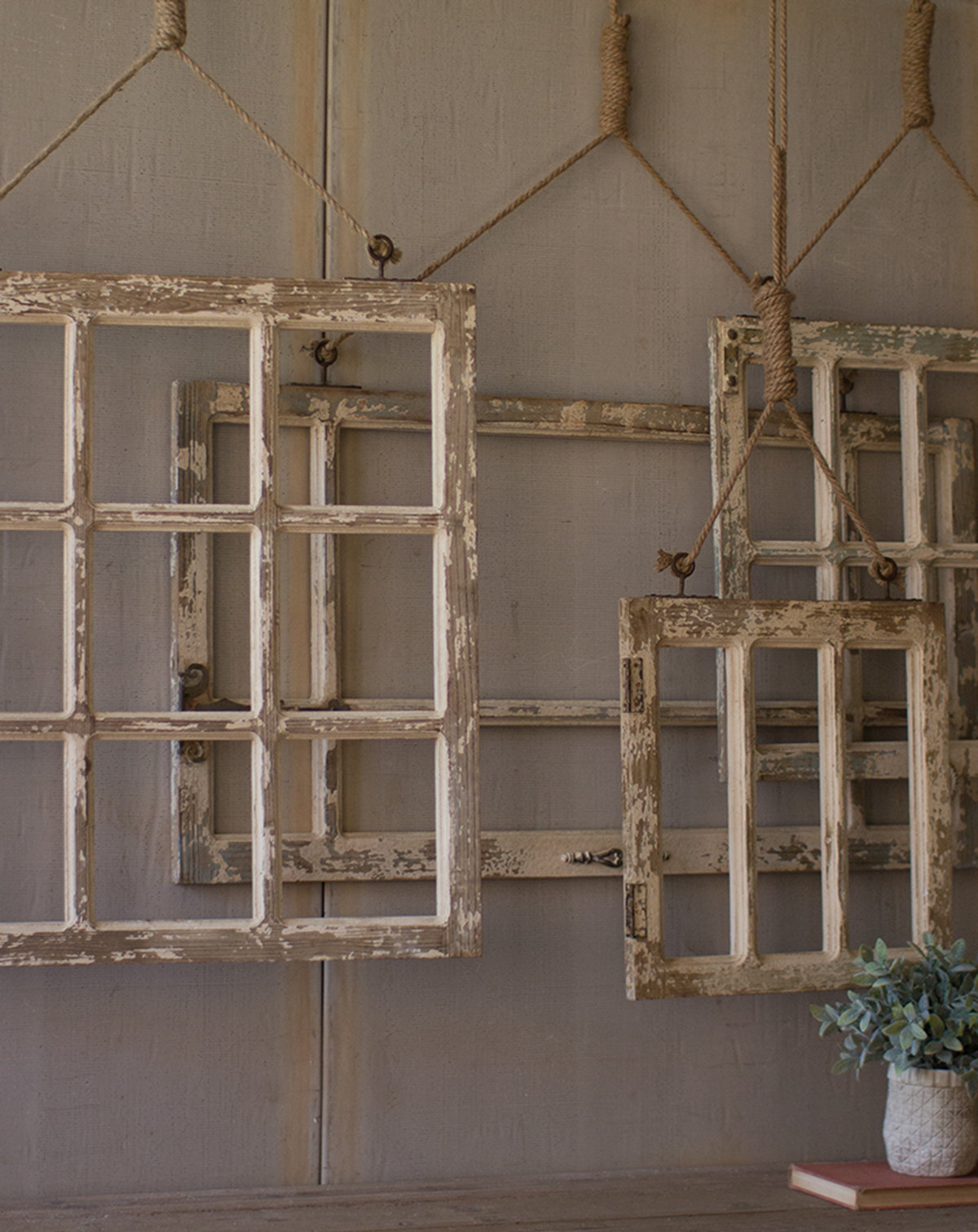Rustic Window Frame Wall Decor   Wayfair For Old Rustic Barn Window Frame (Gallery 10 of 30)