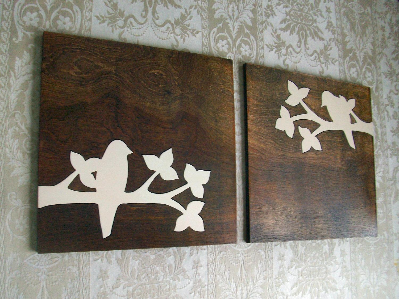 Rustic Wood Wall Art Decor : Stylish Wood Wall Art Decor with Brown Wood and Metal Wall Decor (Image 19 of 30)