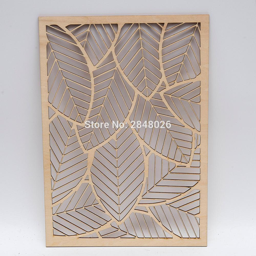 Rustic Wooden Falling Leaves Wall Decor, Party Photo Booth Props, Bedroom  Sign, Dorm Wall Decor.living Room Decor in Flowing Leaves Wall Decor (Image 23 of 30)