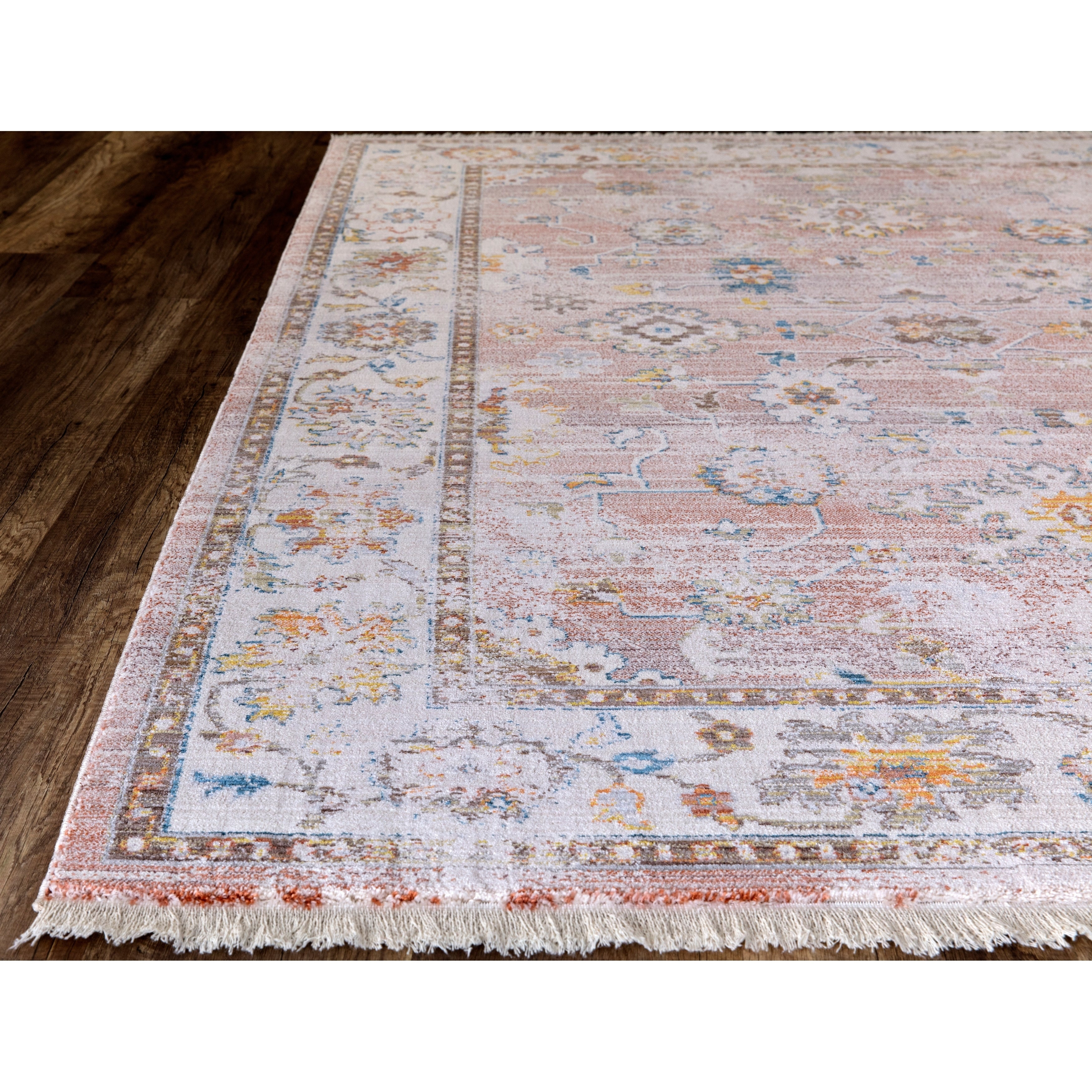 "Rutherford Faded Rust Area Rug – 7'10""x10'2"" Throughout Rutherford Sideboards (View 20 of 30)"