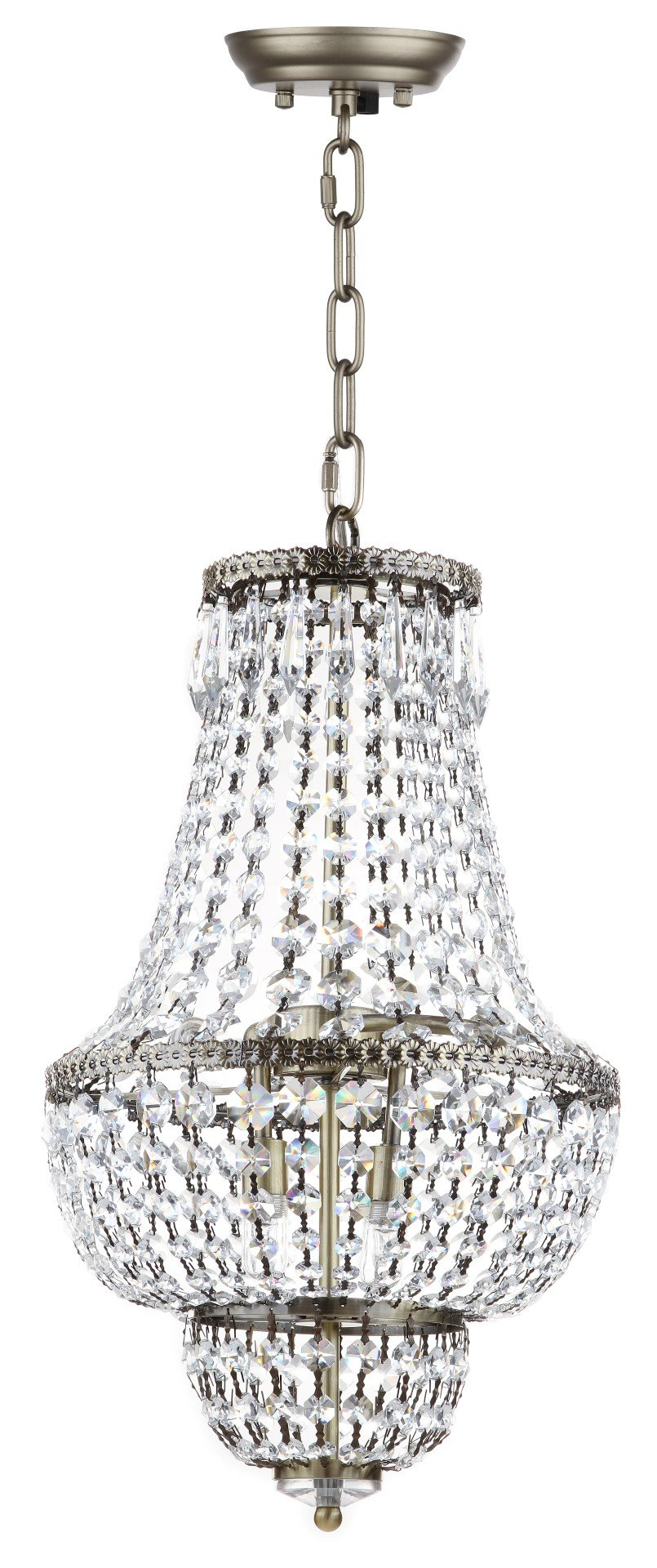 Rutland 4-Light Empire Chandelier & Reviews | Joss & Main inside Spokane 1-Light Single Urn Pendants (Image 24 of 30)