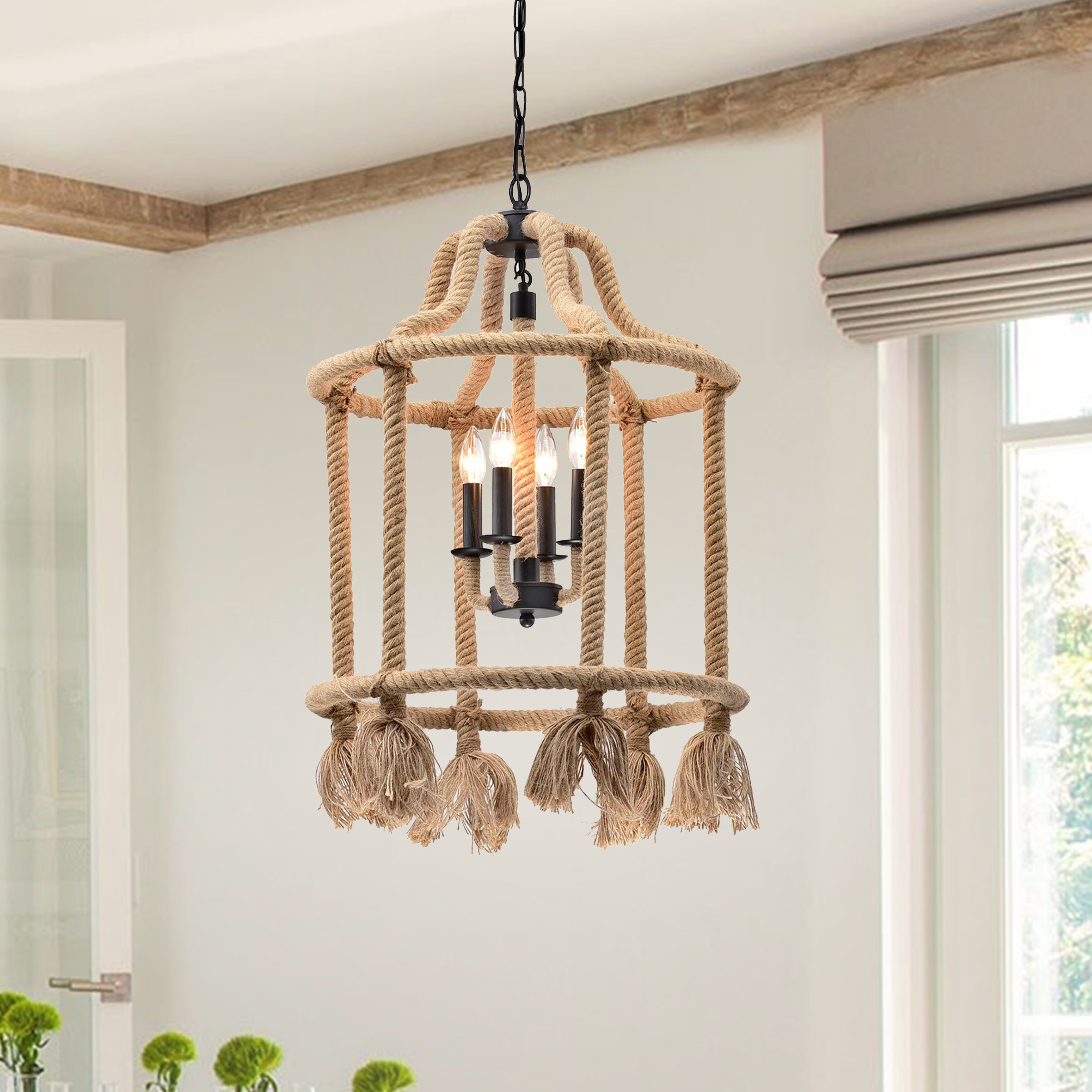 Ruyle Eastlake 3 Light Lantern Cylinder Pendant Pertaining To 3 Light Lantern Cylinder Pendants (Photo 9 of 30)