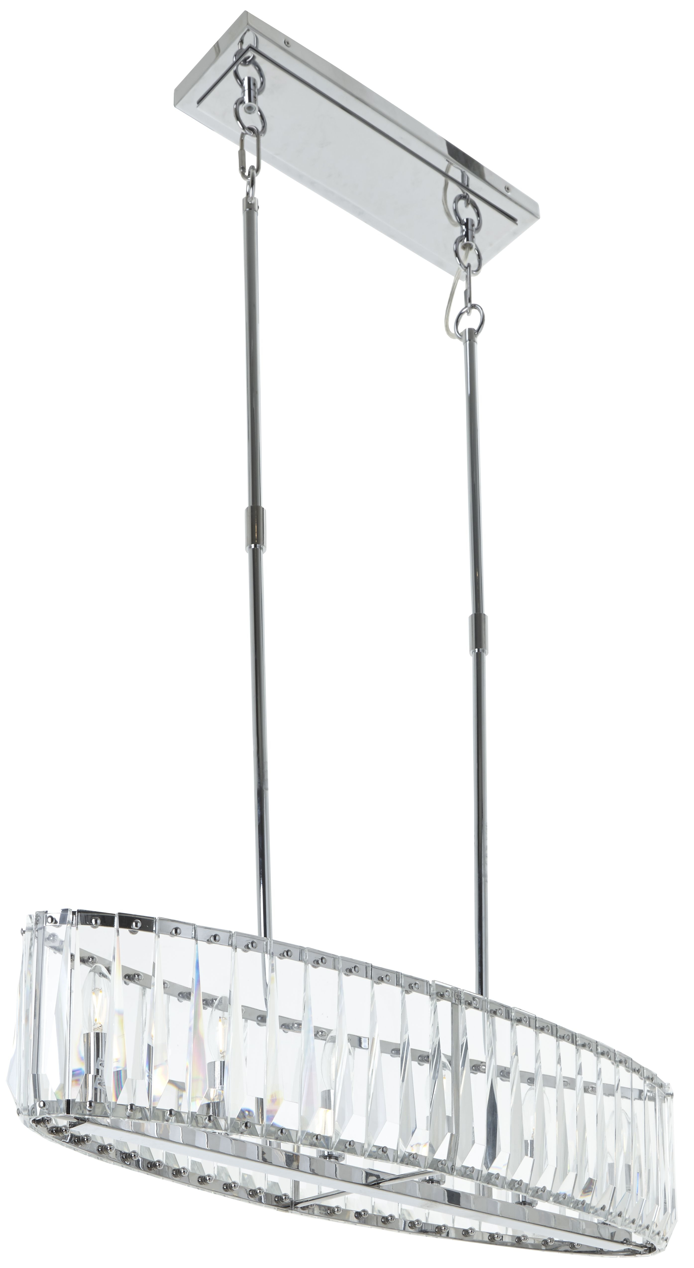 Rv Astley Mai Ceiling Pendant Light – Nickel And Crystal With Regard To Hurst 1 Light Single Cylinder Pendants (Gallery 27 of 30)