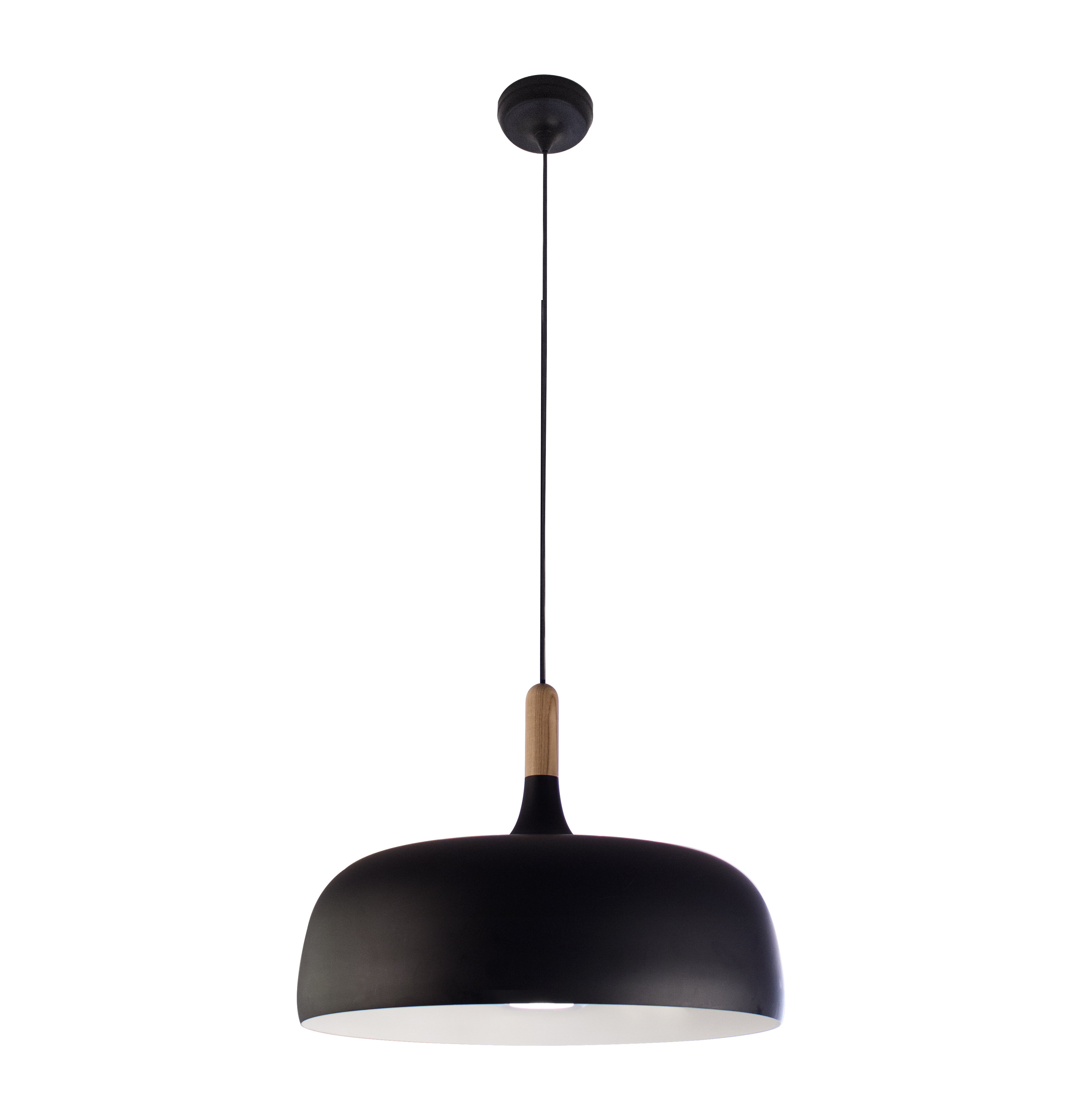 Ryker 1-Light Single Dome Pendant for Conover 1-Light Dome Pendants (Image 25 of 30)