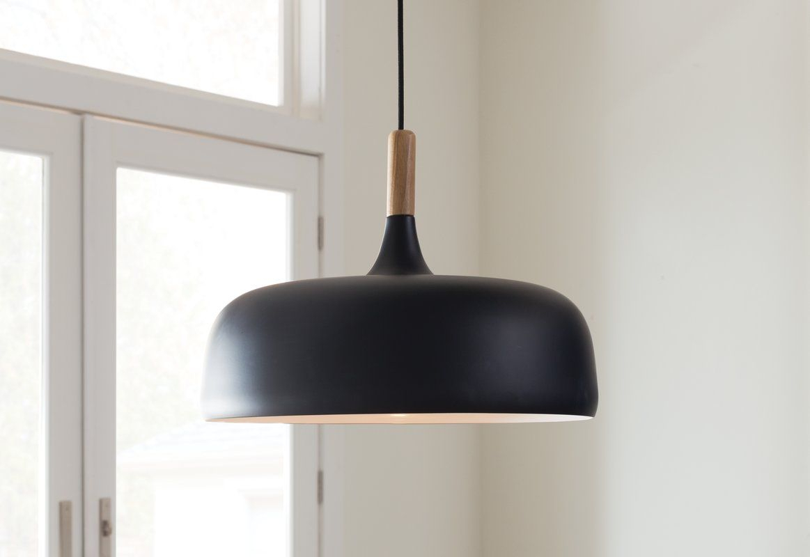 Ryker 1-Light Single Dome Pendant | Little Things In 2019 pertaining to 1-Light Single Dome Pendants (Image 26 of 30)