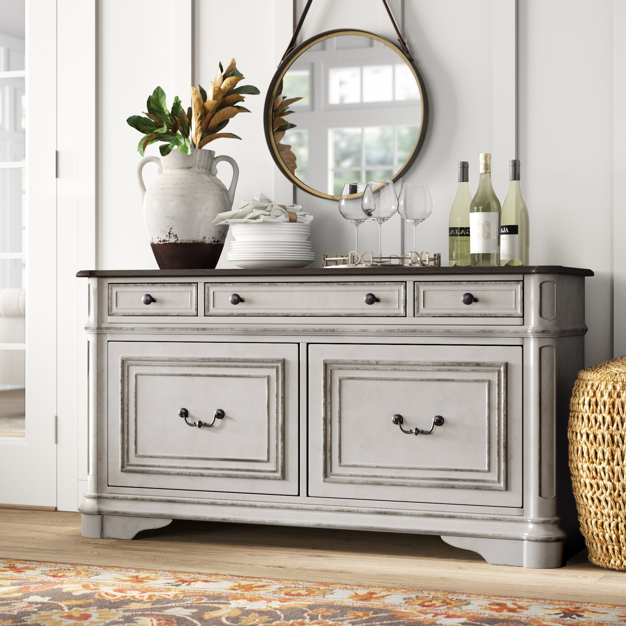 Salinas Sideboard with Courtdale Sideboards (Image 25 of 30)
