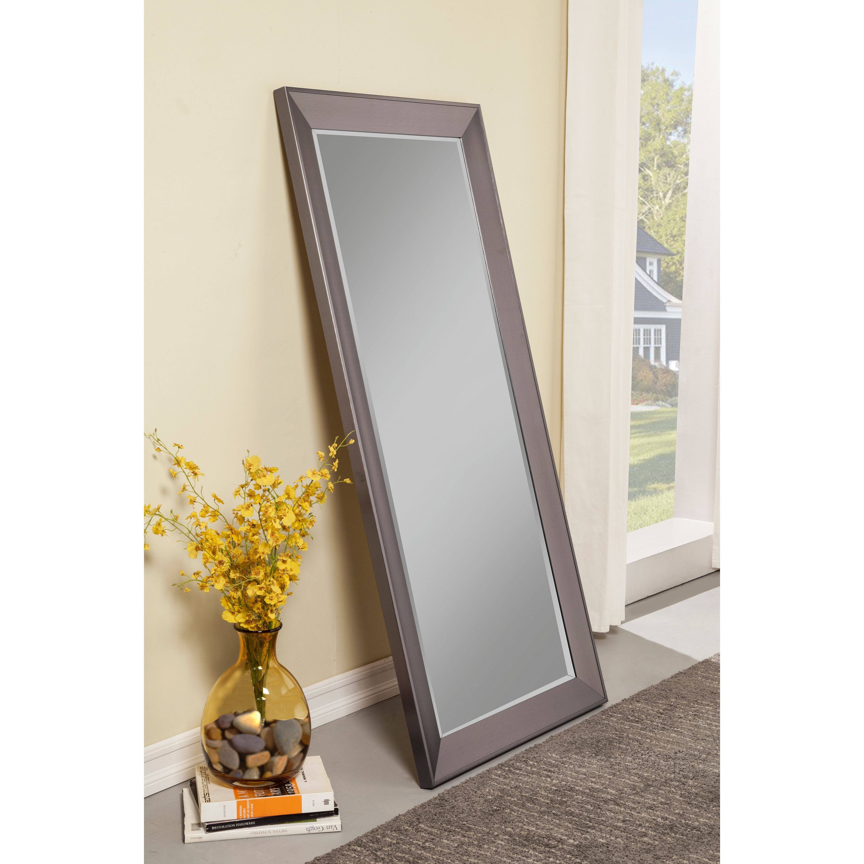 Sandberg Furniture Mid Century Modern Silver Full Length With Modern & Contemporary Full Length Mirrors (View 10 of 30)