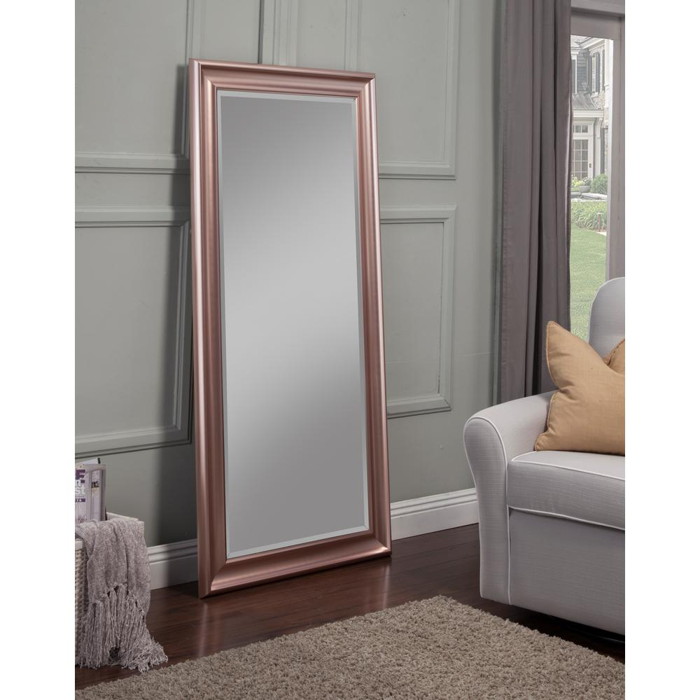 Sandberg Furniture Rose Gold Full Length Leaner Floor Mirror For Leaning Mirrors (View 14 of 30)