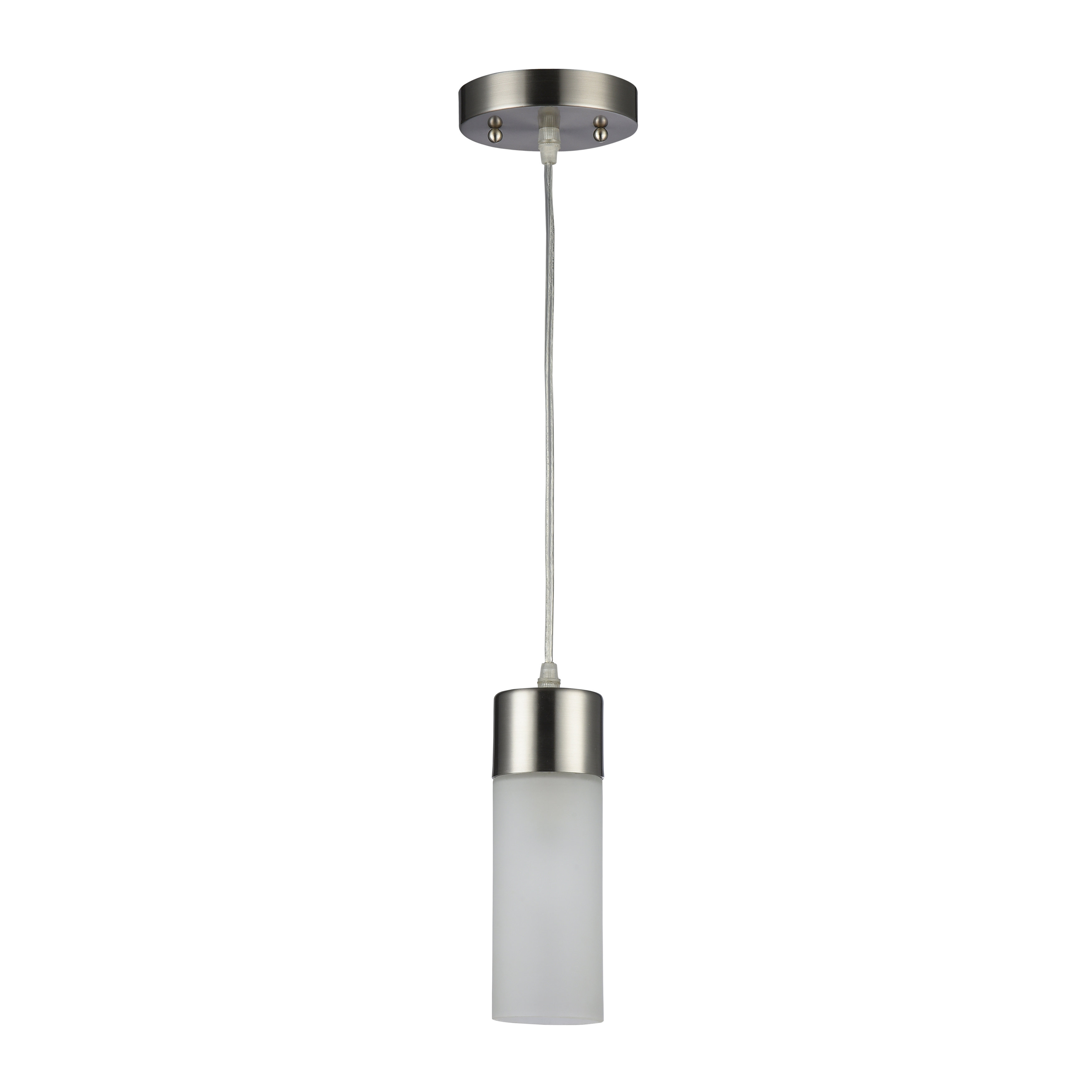 Sanni 1-Light Cylinder Pendant within Jayce 1-Light Cylinder Pendants (Image 25 of 30)