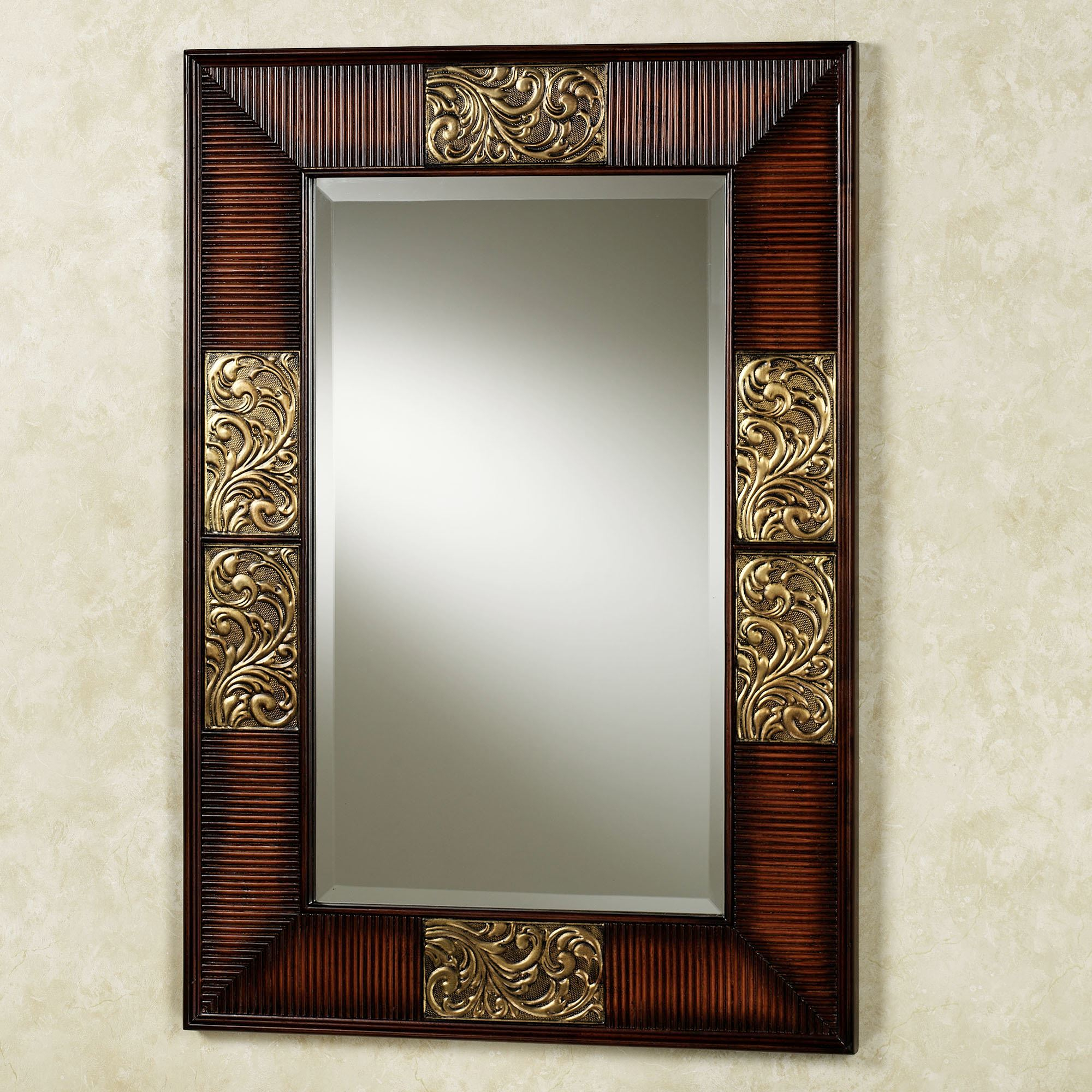 Sarantino Wall Mirror Within Medallion Accent Mirrors (View 27 of 30)
