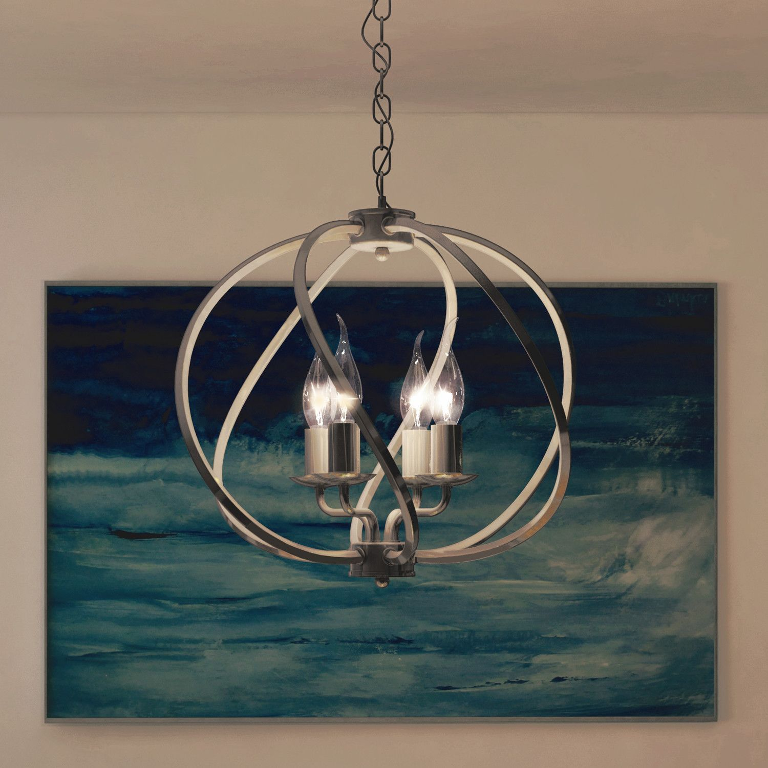 Sargas 4 Light Globe Pendant | Products | Lighting, Led With Regard To Hendry 4 Light Globe Chandeliers (View 23 of 30)